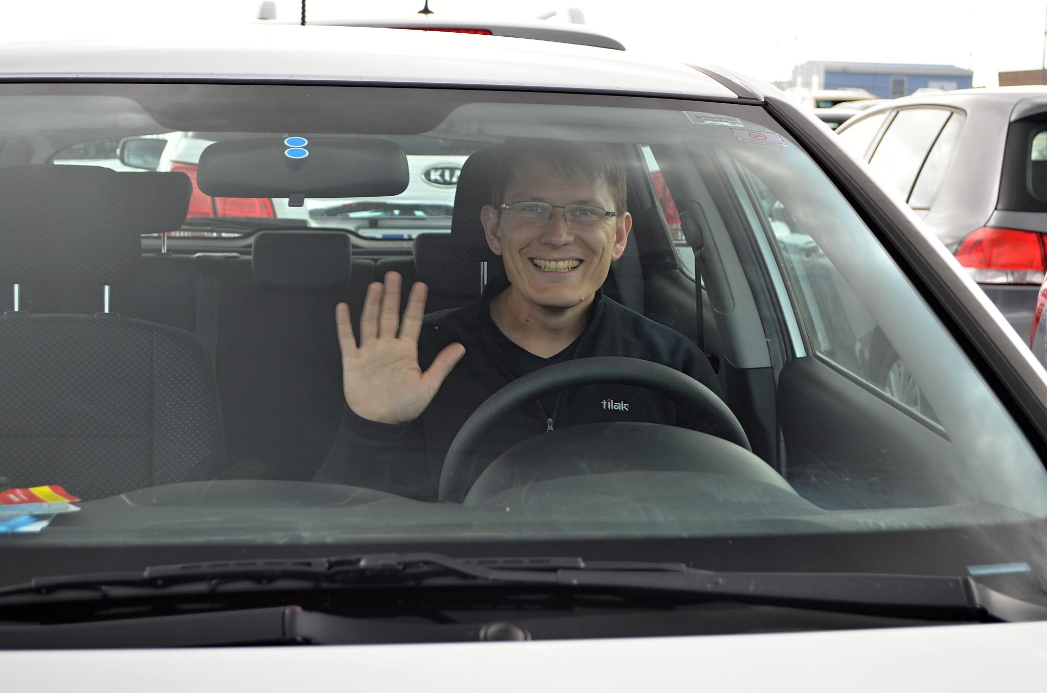 Zdravíme řidiče:)