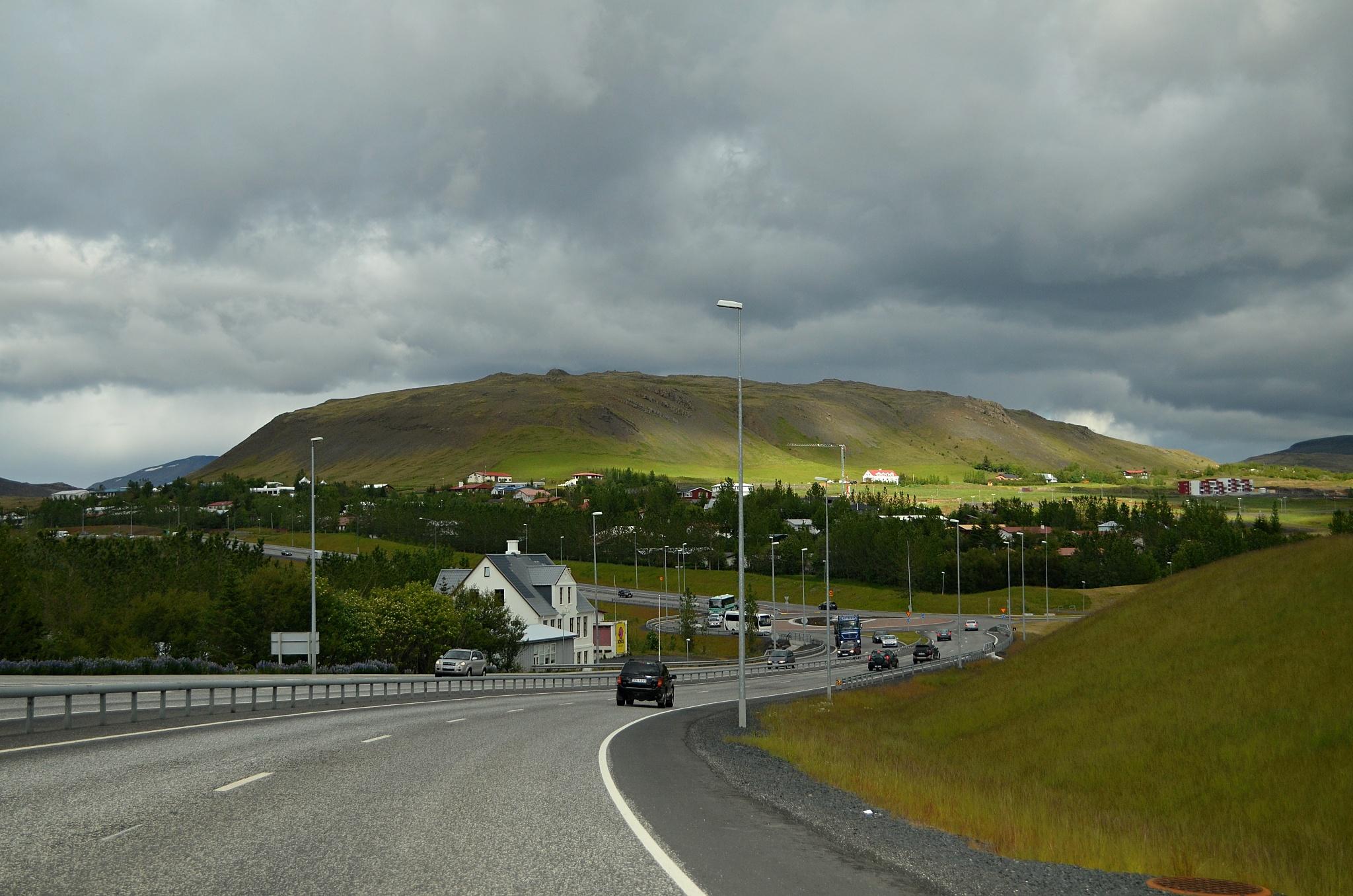 Projíždíme Reykjavíkem