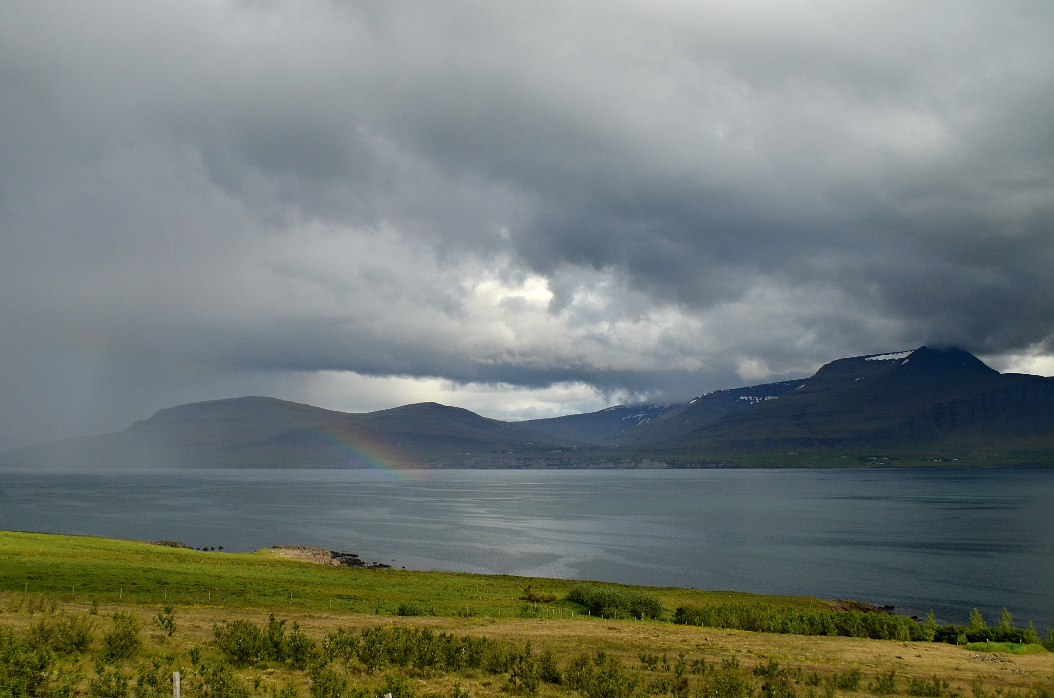 Počasí je na Islandu velmi proměnlivé