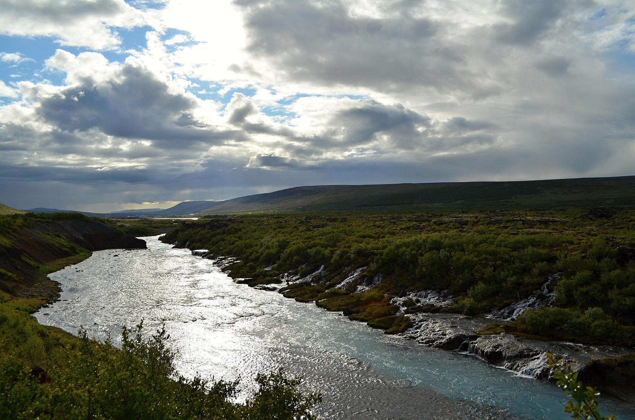 Řeka Hvítá
