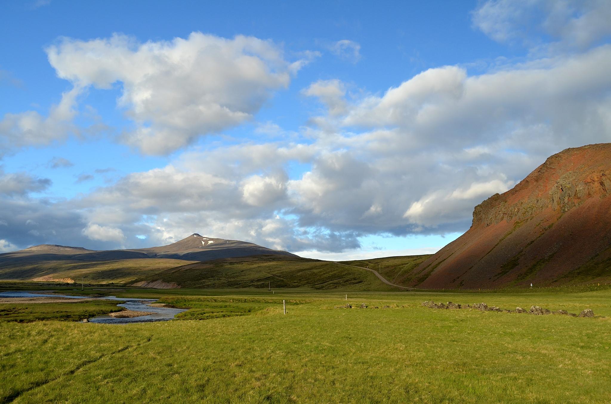 Výhled na kopec Strútur