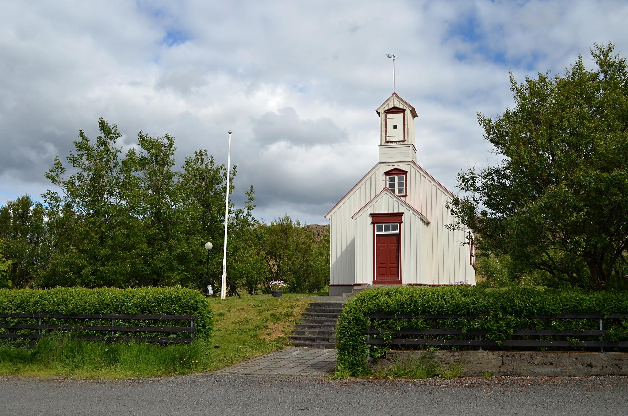 Kostelík u Borg á Mýrum.