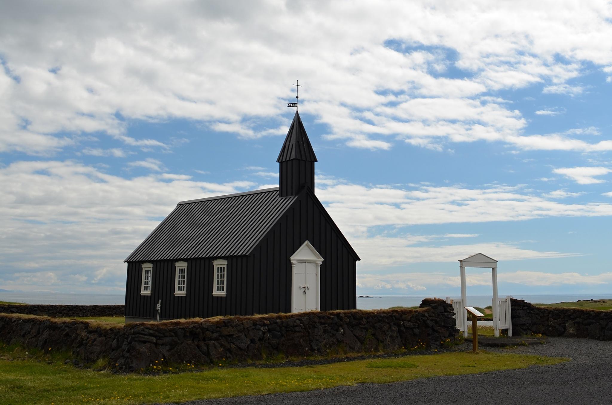 Jeden z nejstarších dřevěných kostelů na Islandu.