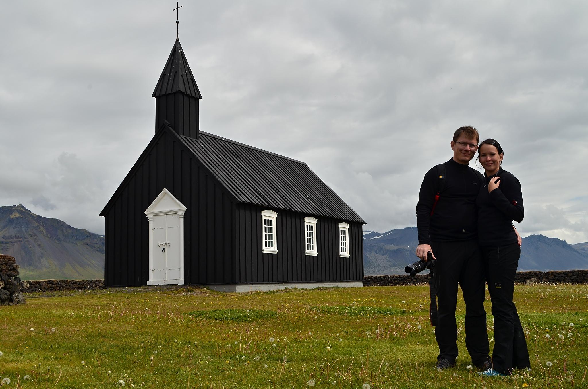 My dva a kostelík v Búðir.