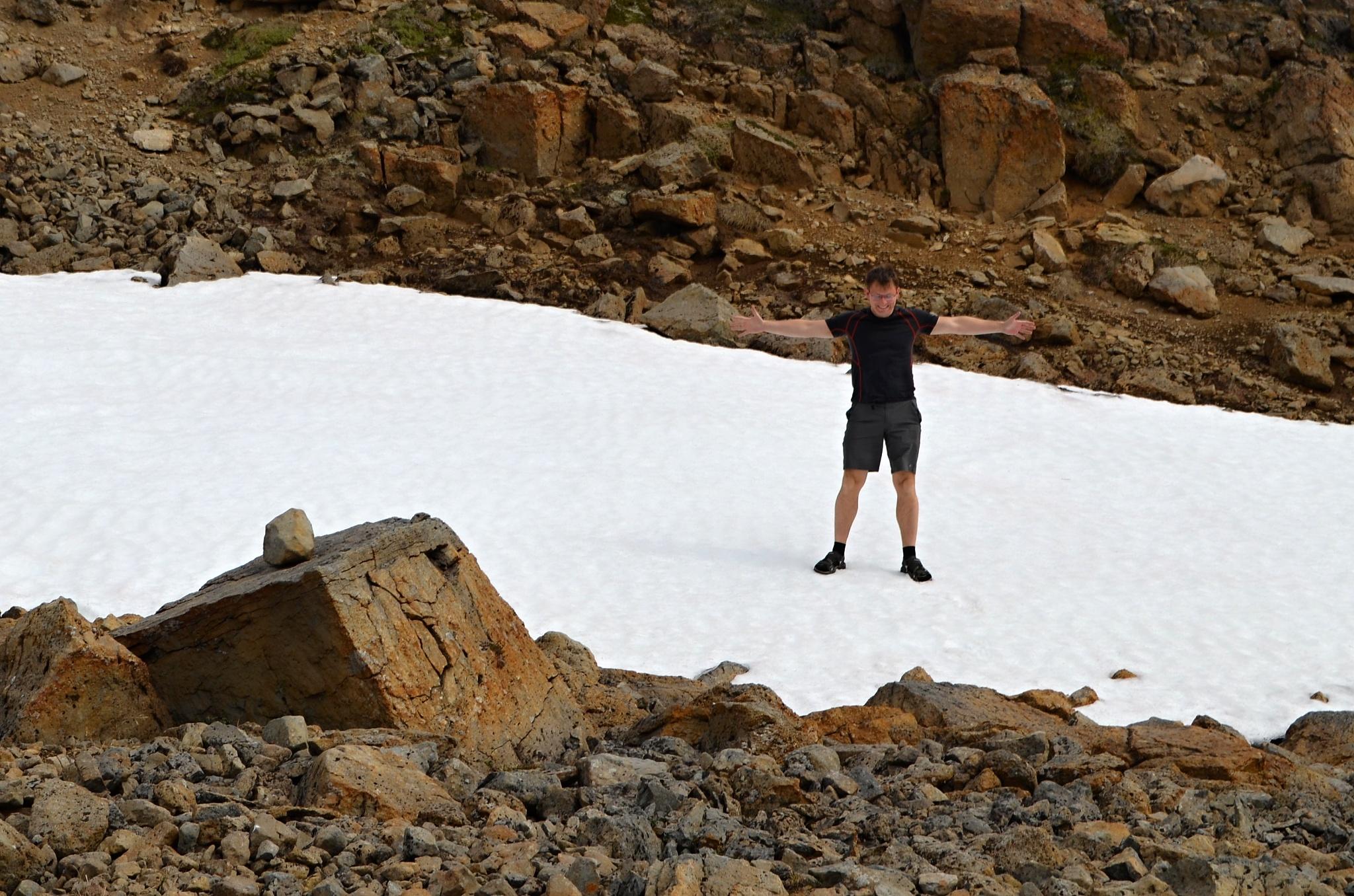 To je sněhu!