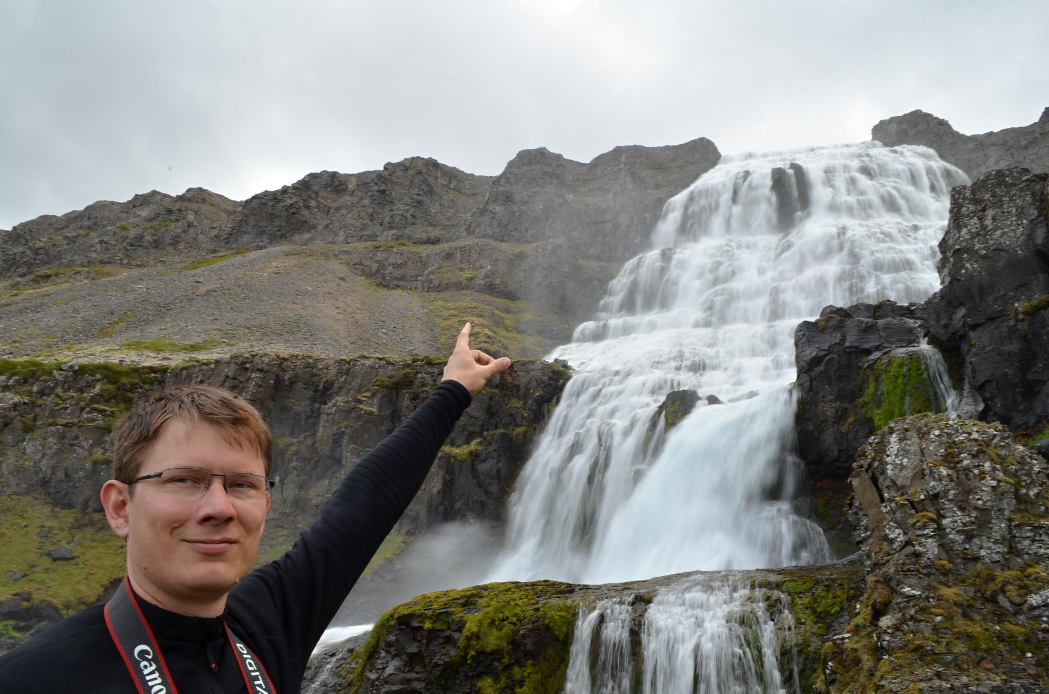 Vodopád Dynjandi je táááááákhle vysoký!