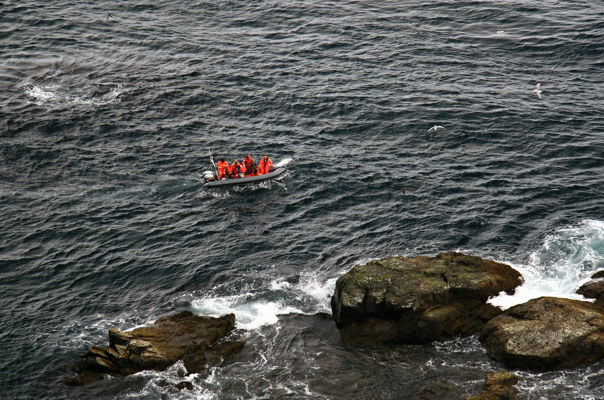 Výletníci na člunu
