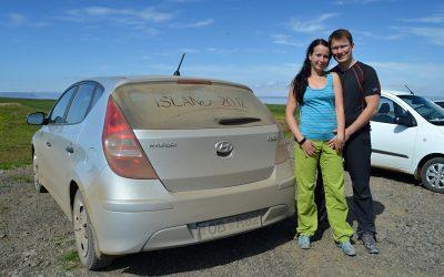 Ohlédnutí za dovolenou na Islandu v létě roku 2012