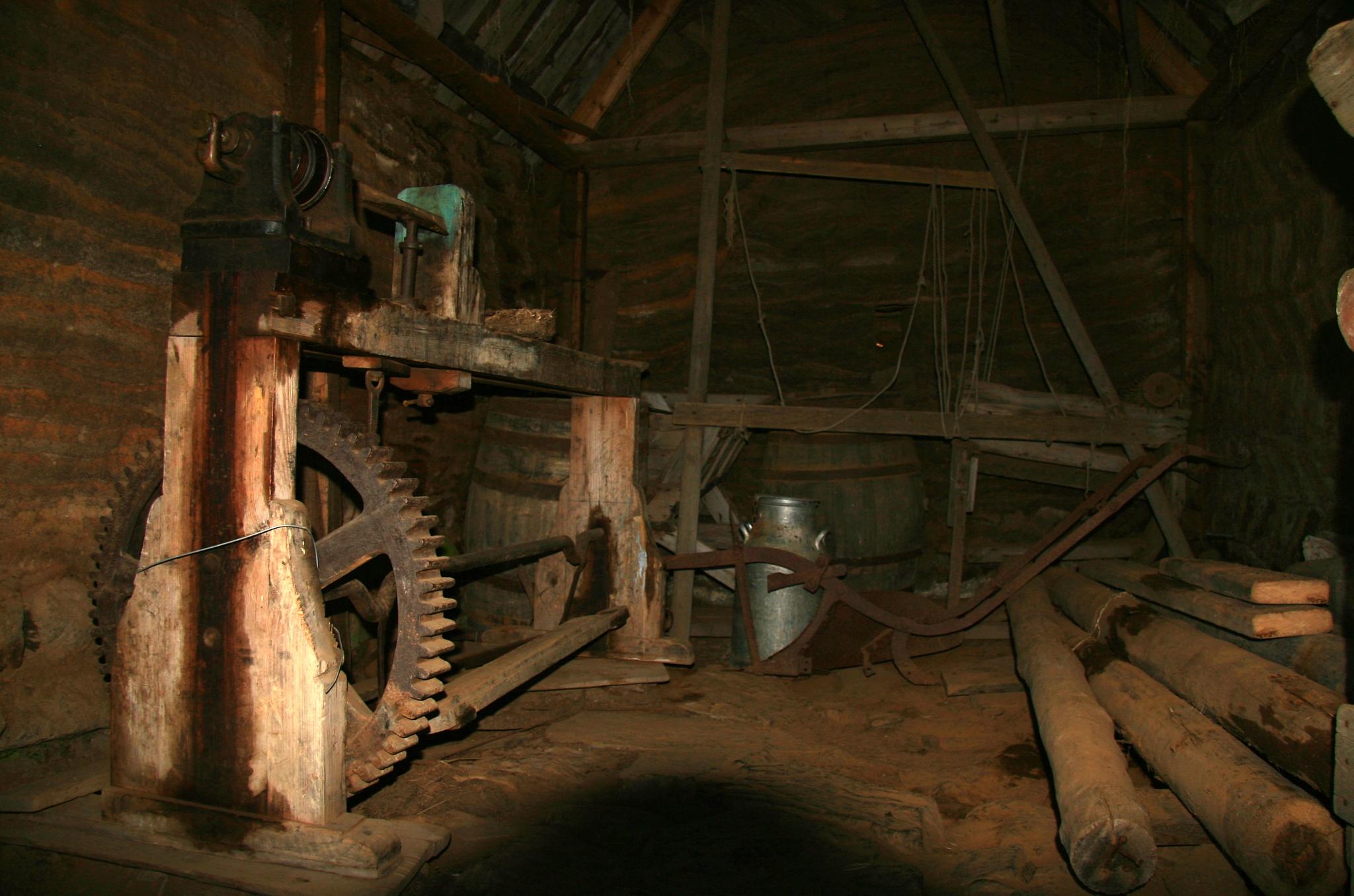 Autentické vnitřní vybavení farmy Glaumbær