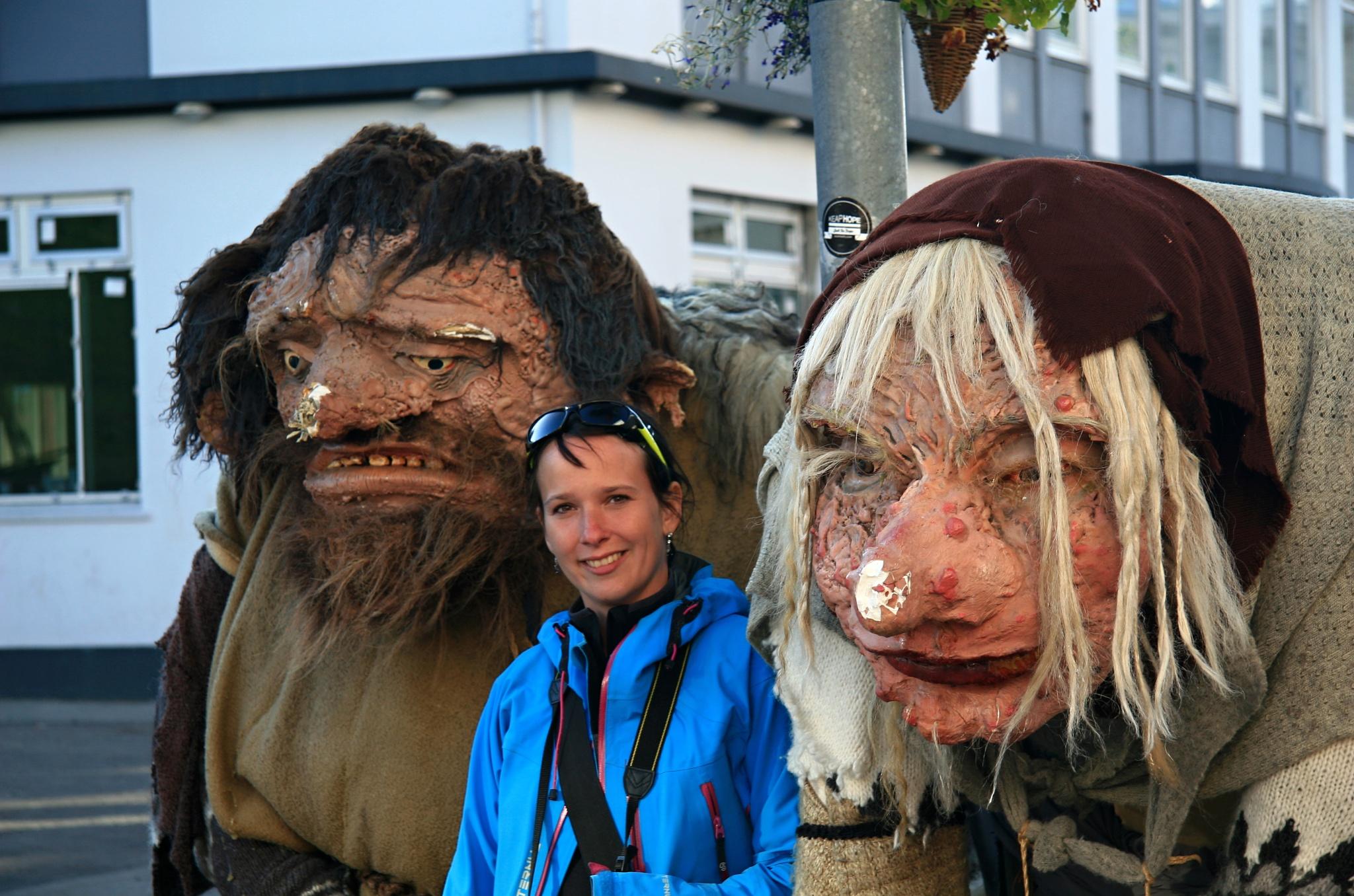 Islandští trollové... a Hanka (uprostřed) ;)