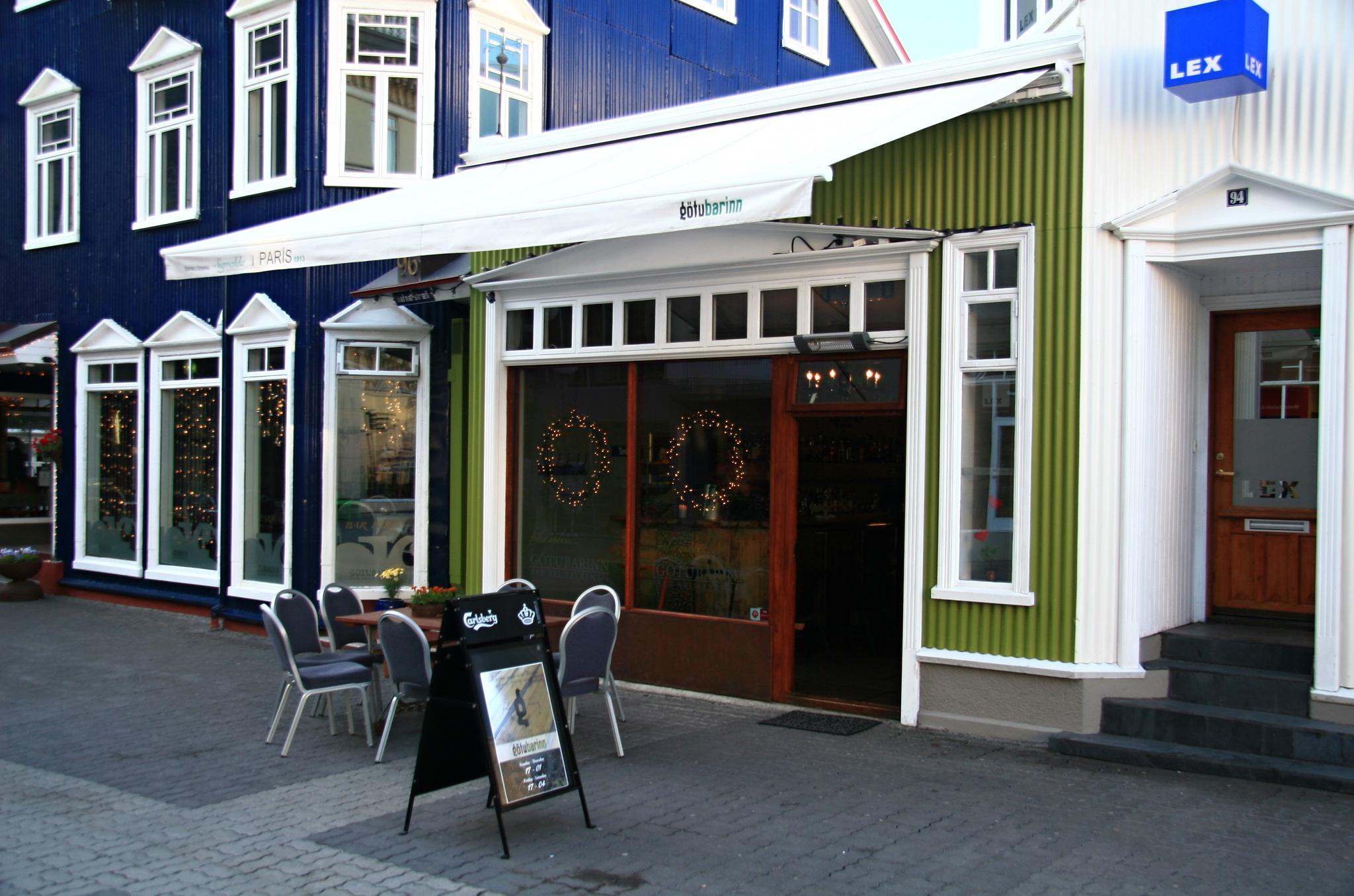 Malý bar Gotubarinn v Akureyri