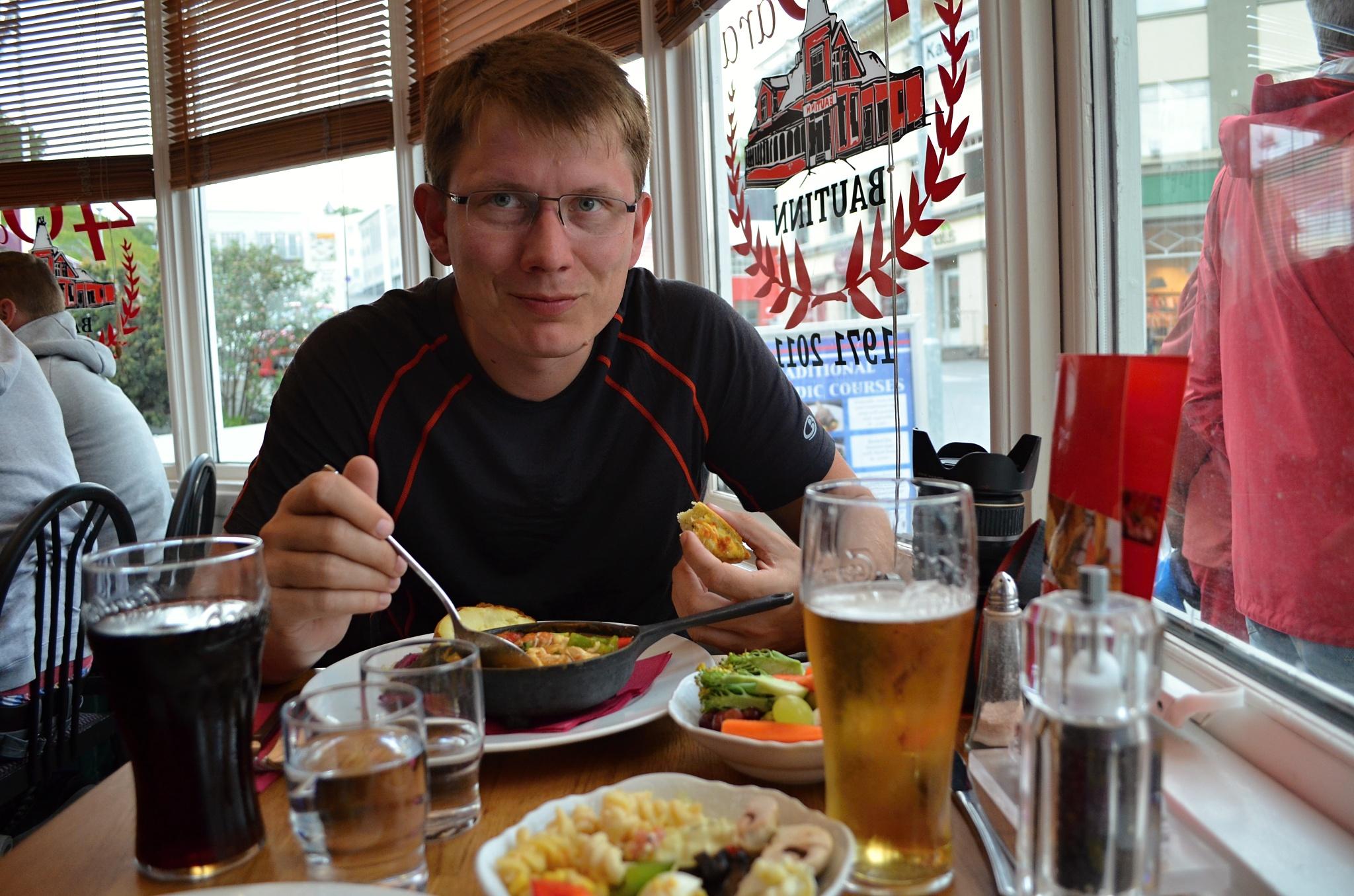 Večeře v restauraci Bautinn