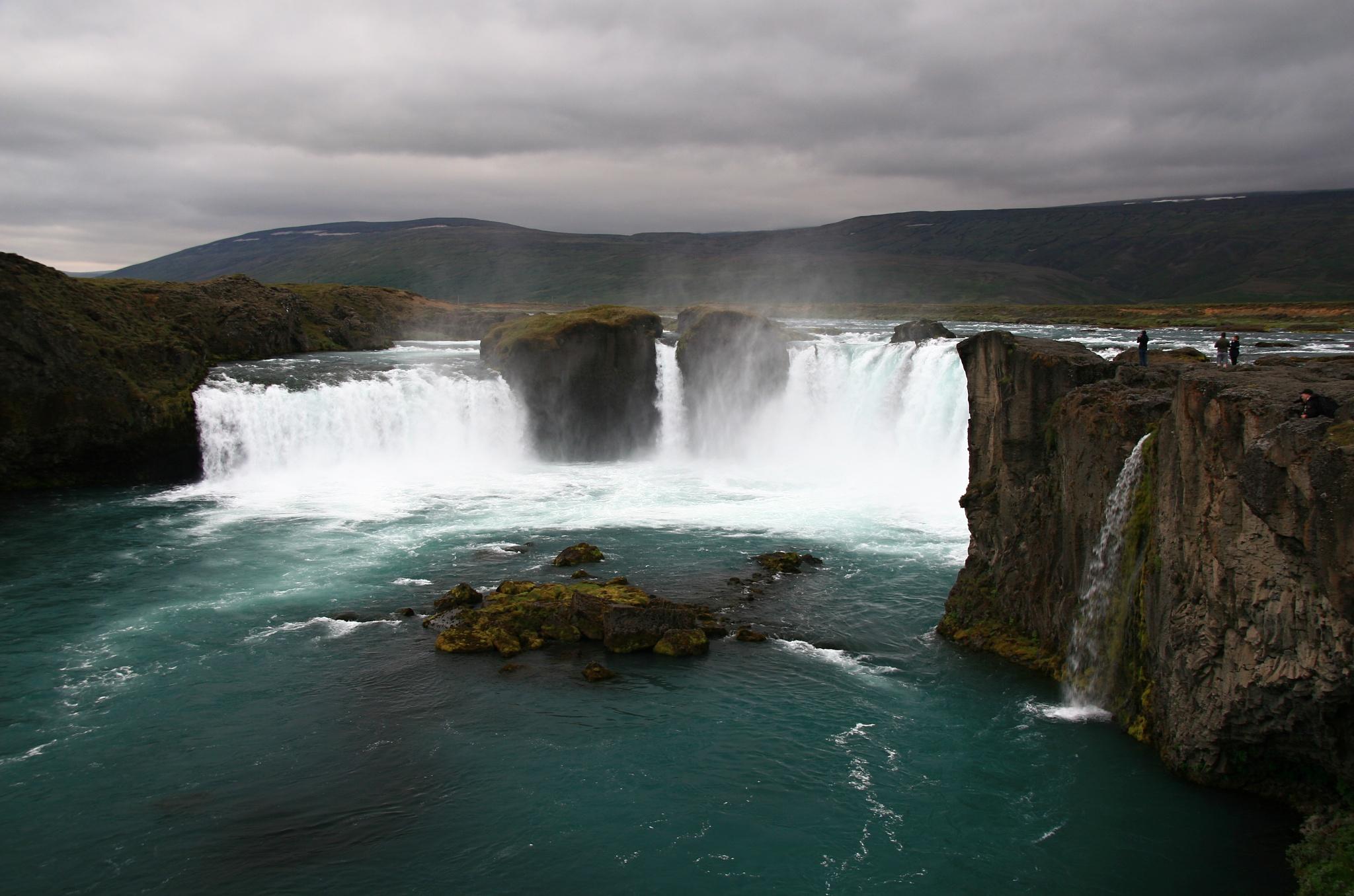 Vodopád Goðafoss