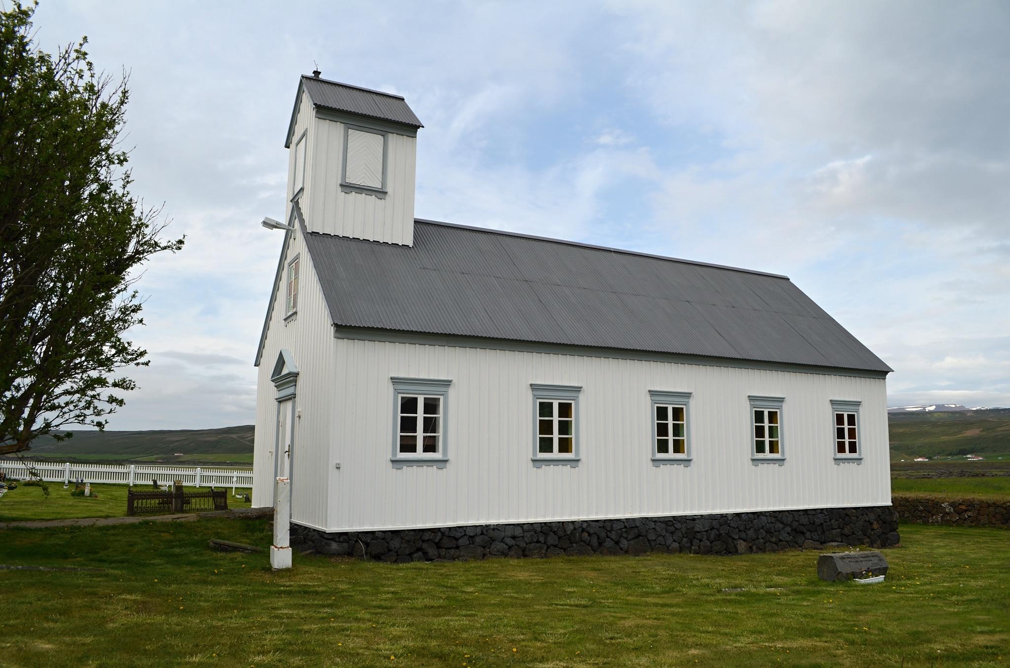 Kostelík Grenjaðarstaðakirkja