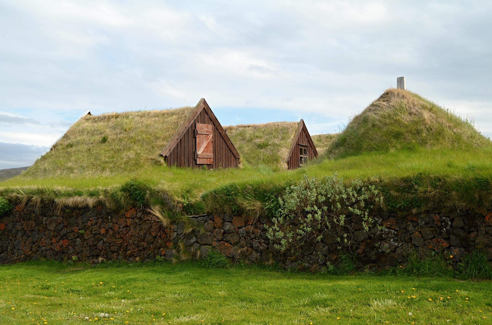 Historická farma v Granjaðarstaðuru
