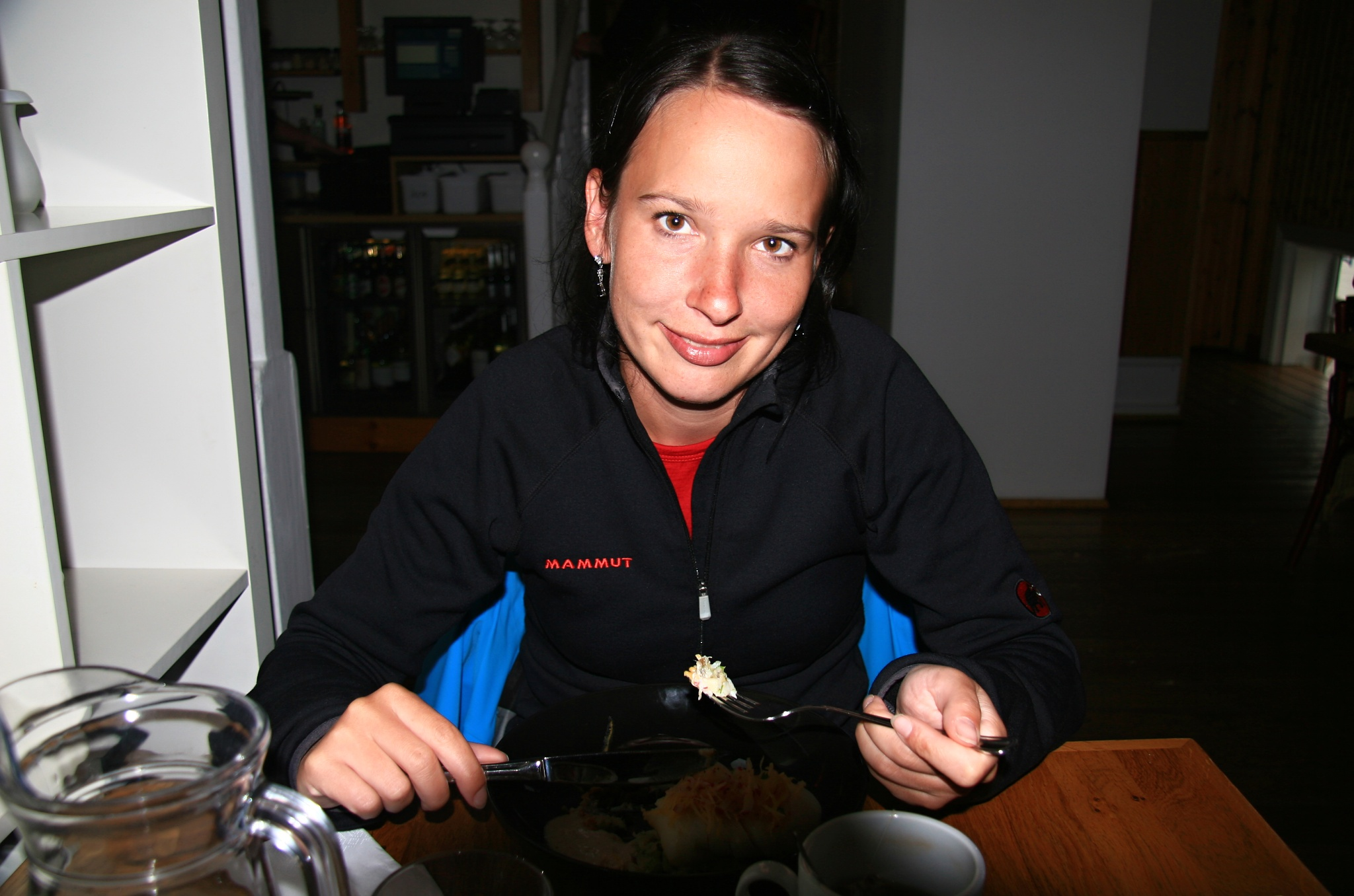 Večeře v restauraci Salka v Húsavíku
