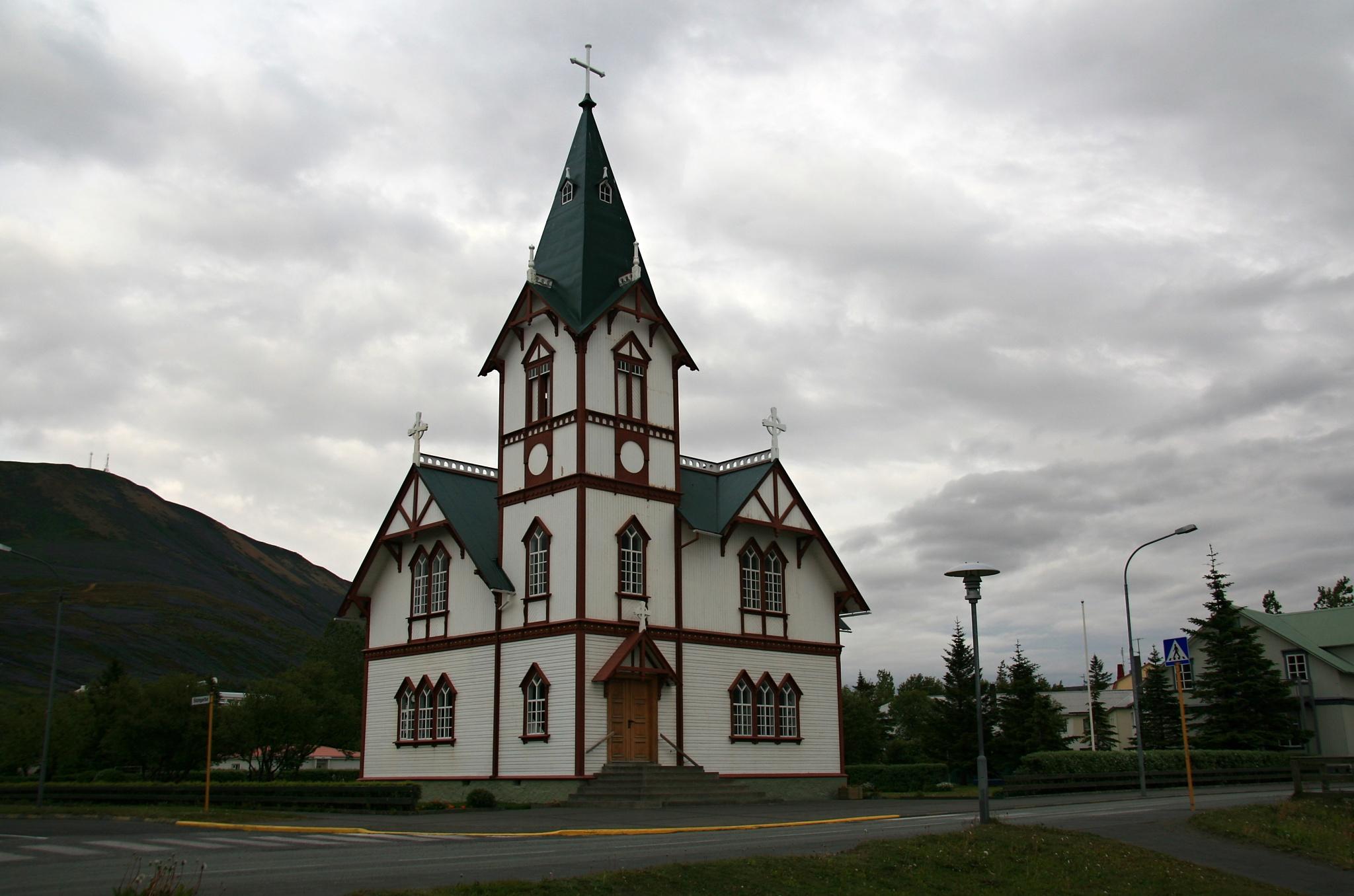 Kostel v Húsavíku