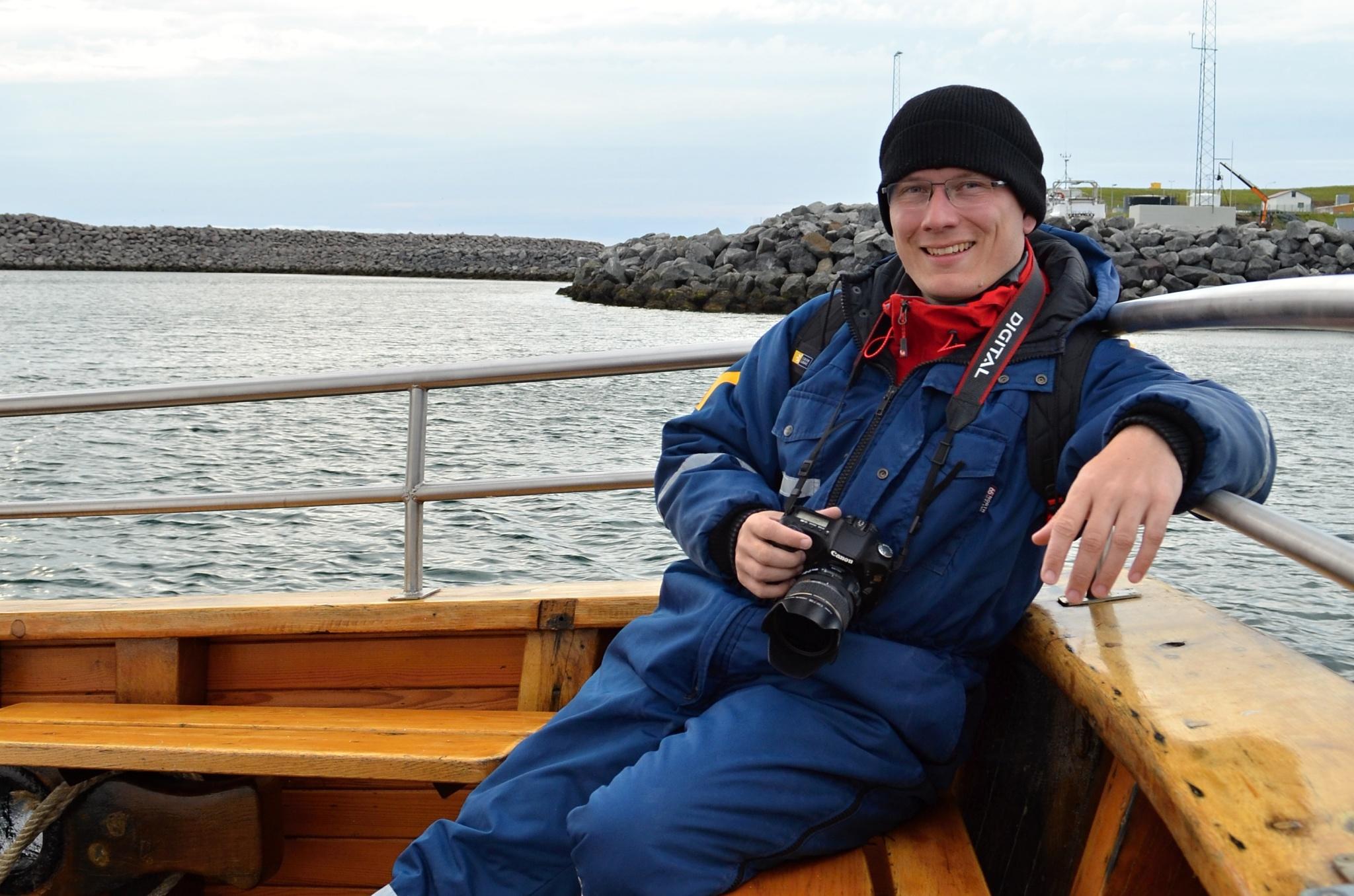 Odpočinek před fotolovem velryb