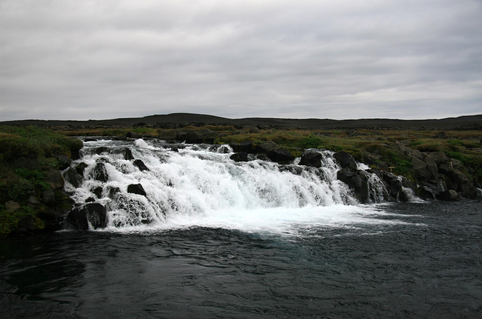Malý vodopád na řece Grafarlandaá