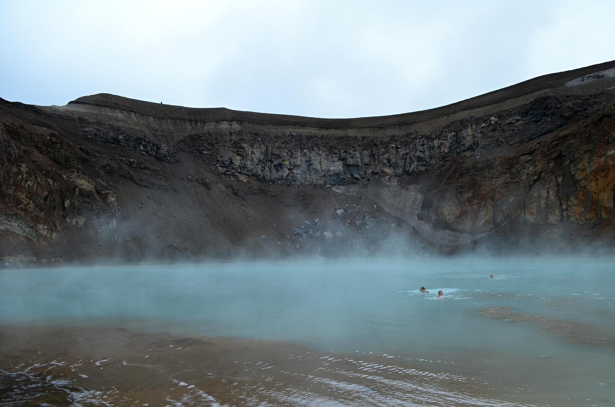 Voda měla velmi příjemnou teplotu