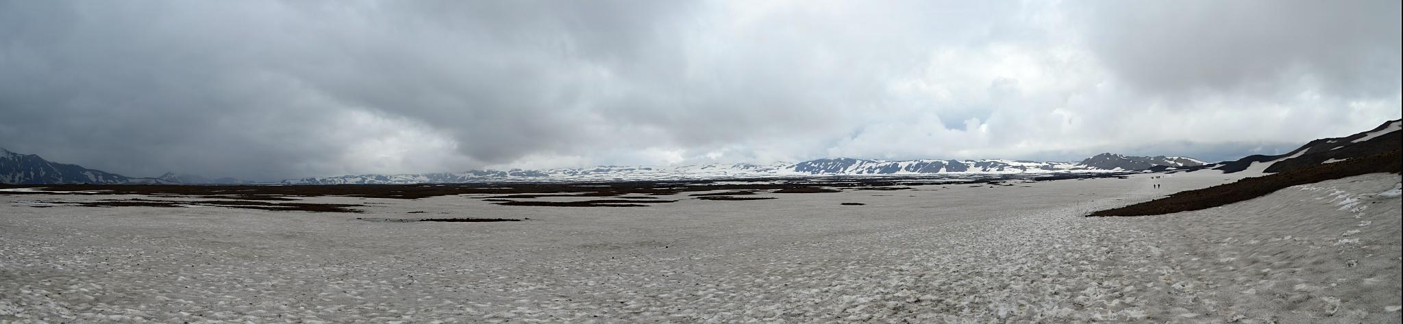 Panorama kráteru Askji