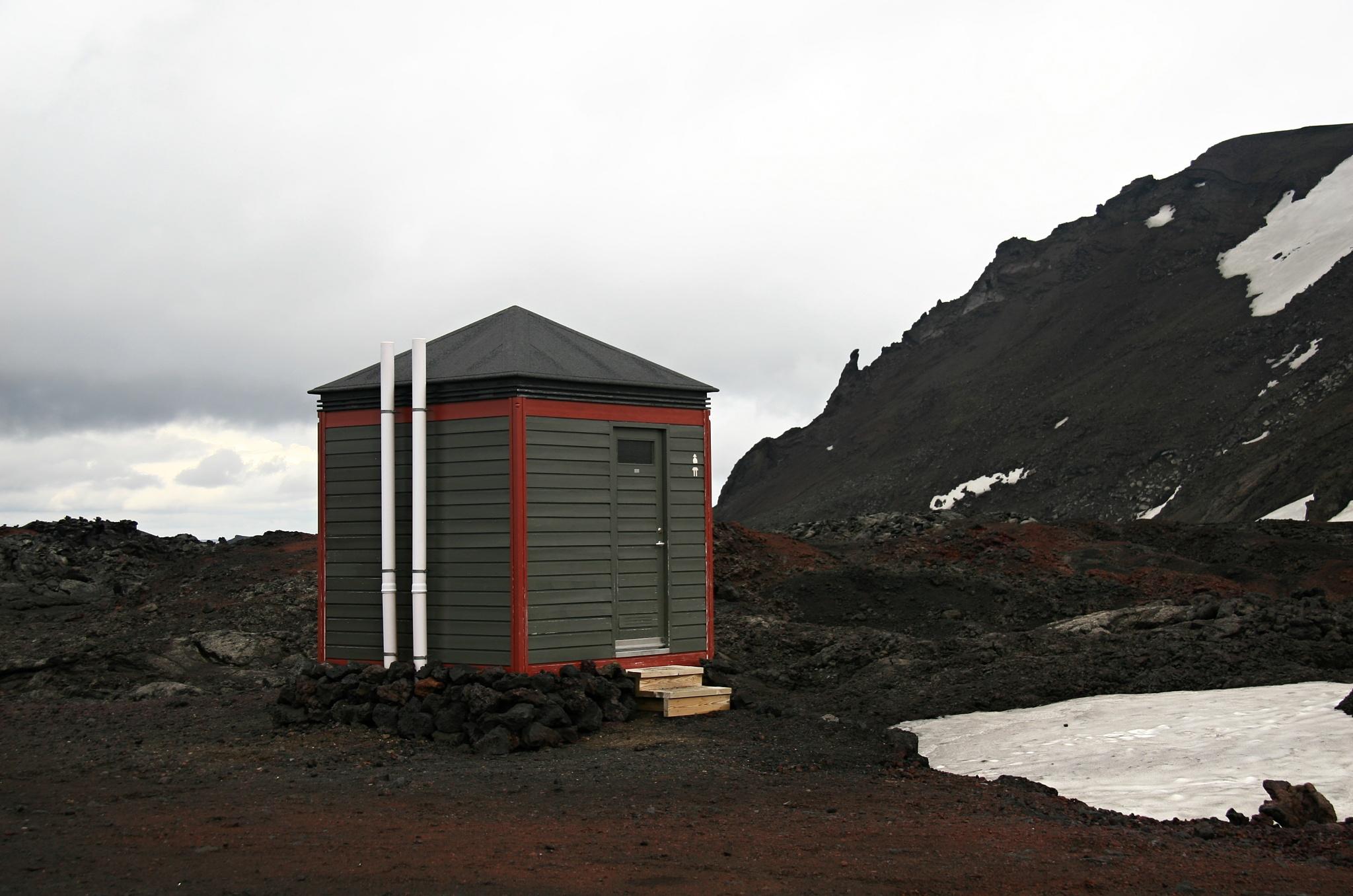 Veřejné toalety, z našeho pohledu bezesporu luxusní