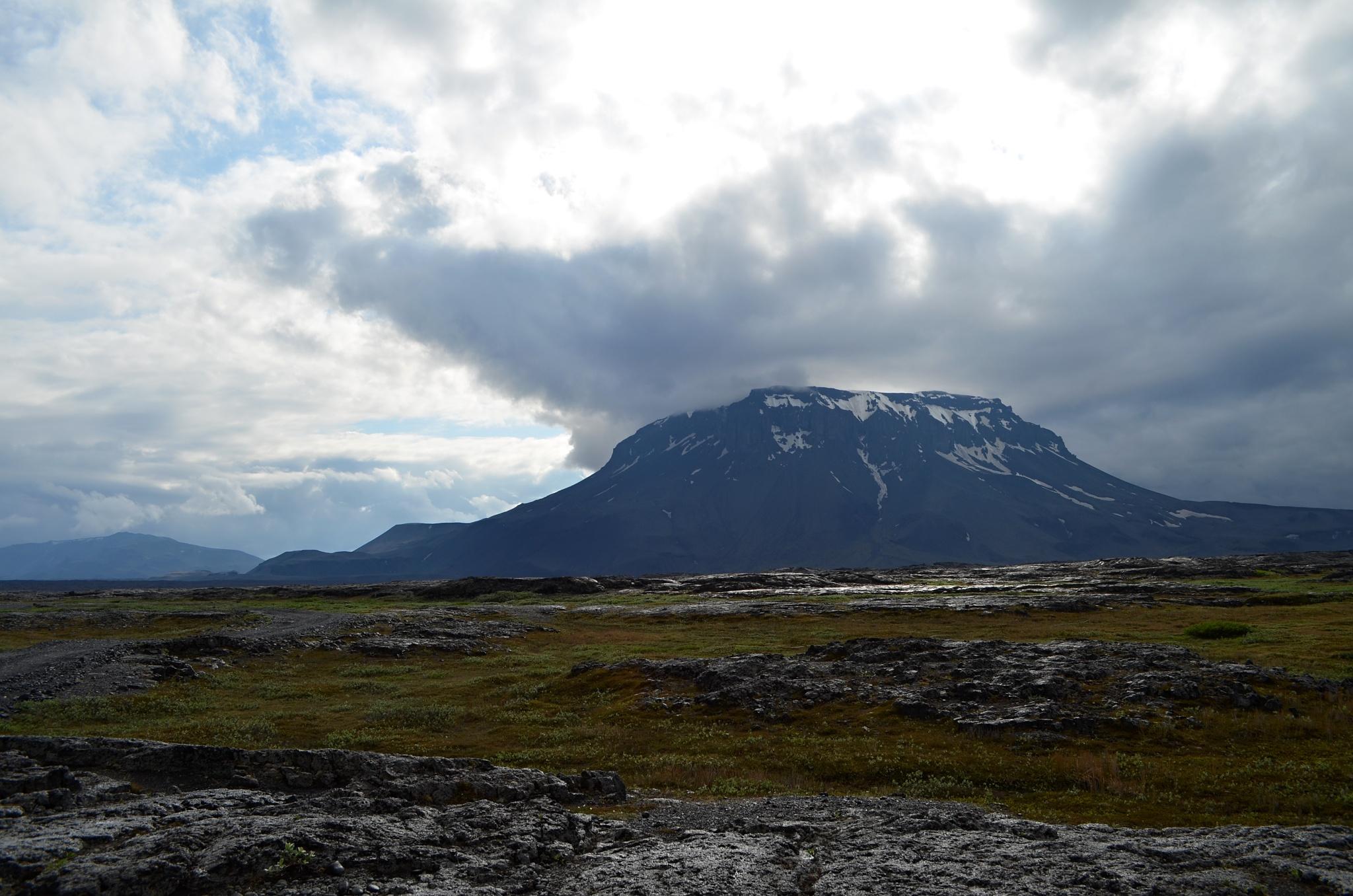 Herðubreið, královna islandských hor