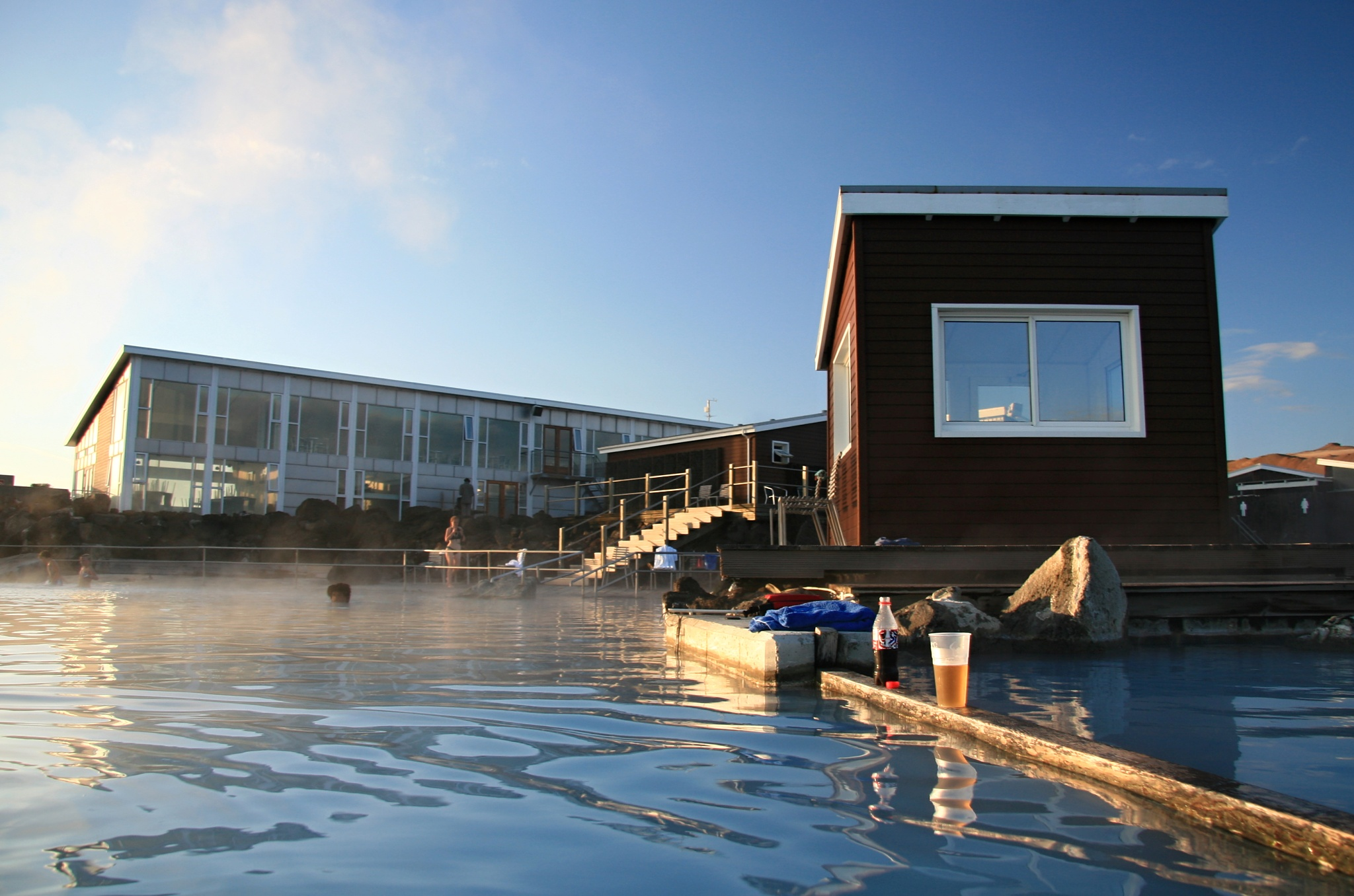 Přírodní koupaliště Jarðböðin u Mývatnu
