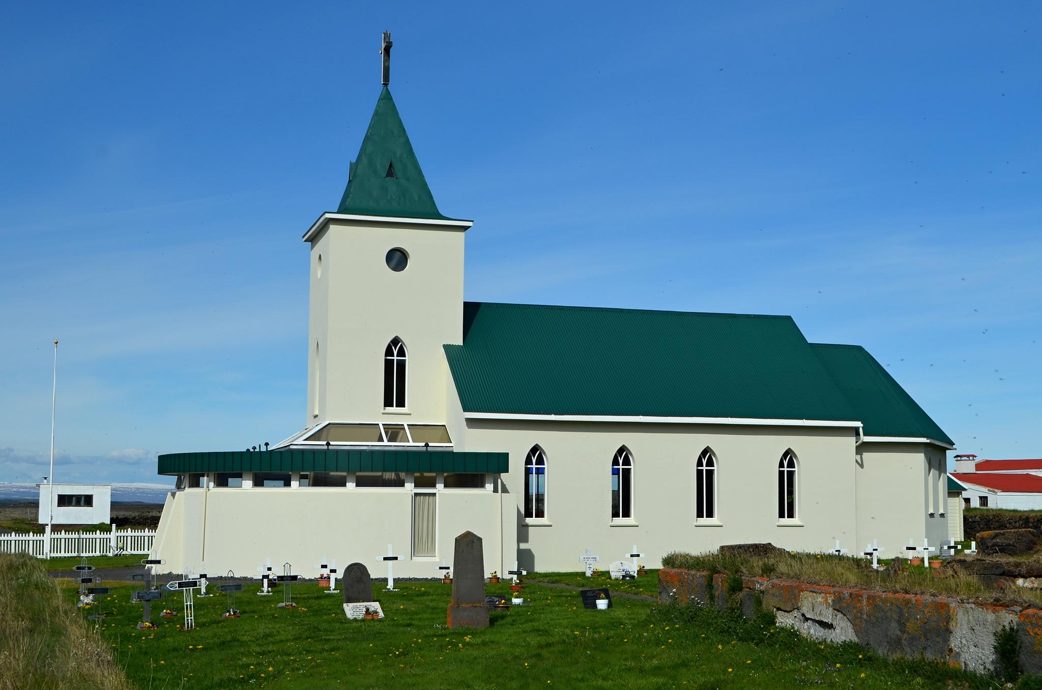 Kostelík v Reykjahlíðu