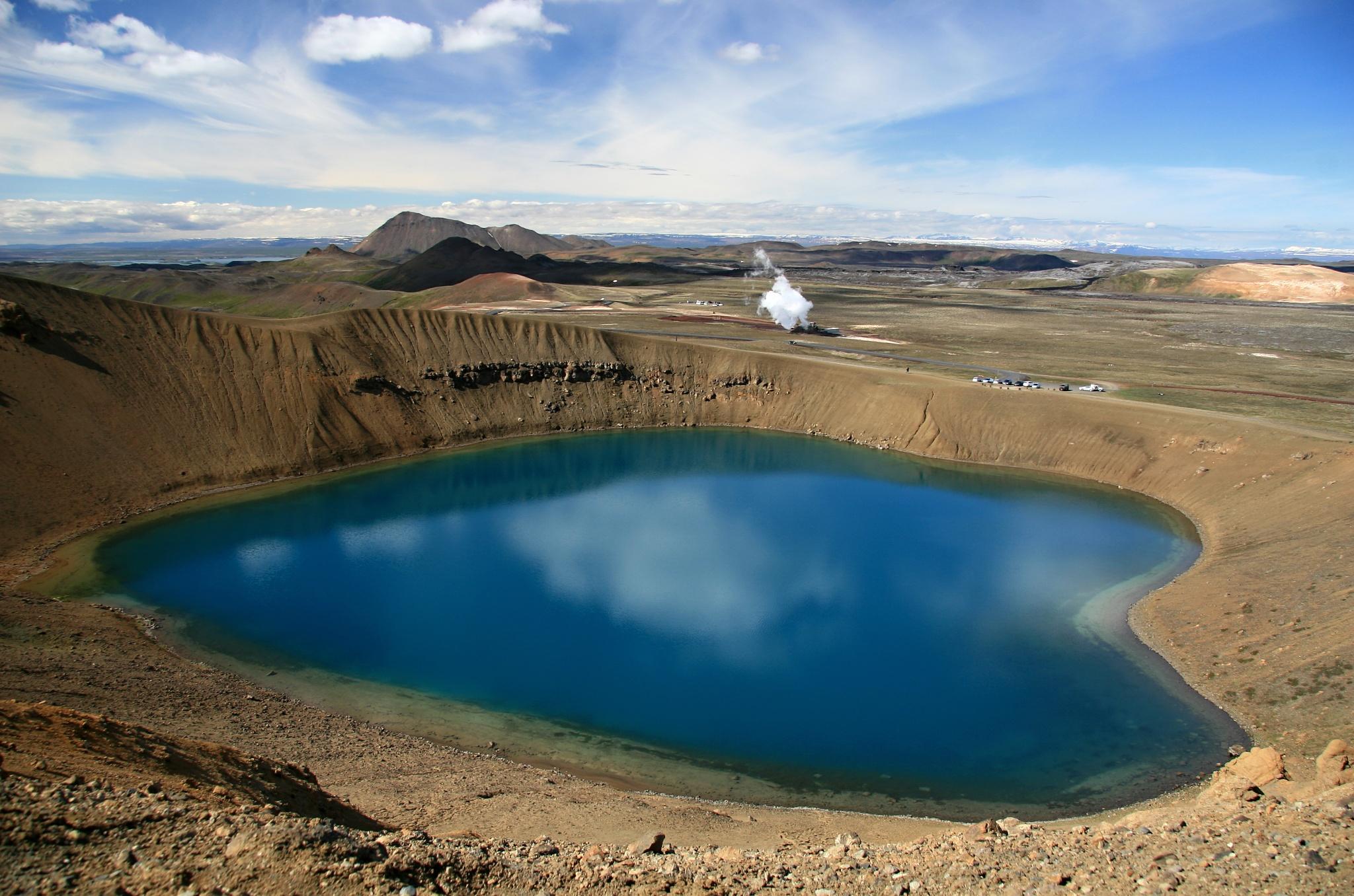 Jezero Víti na Krafle