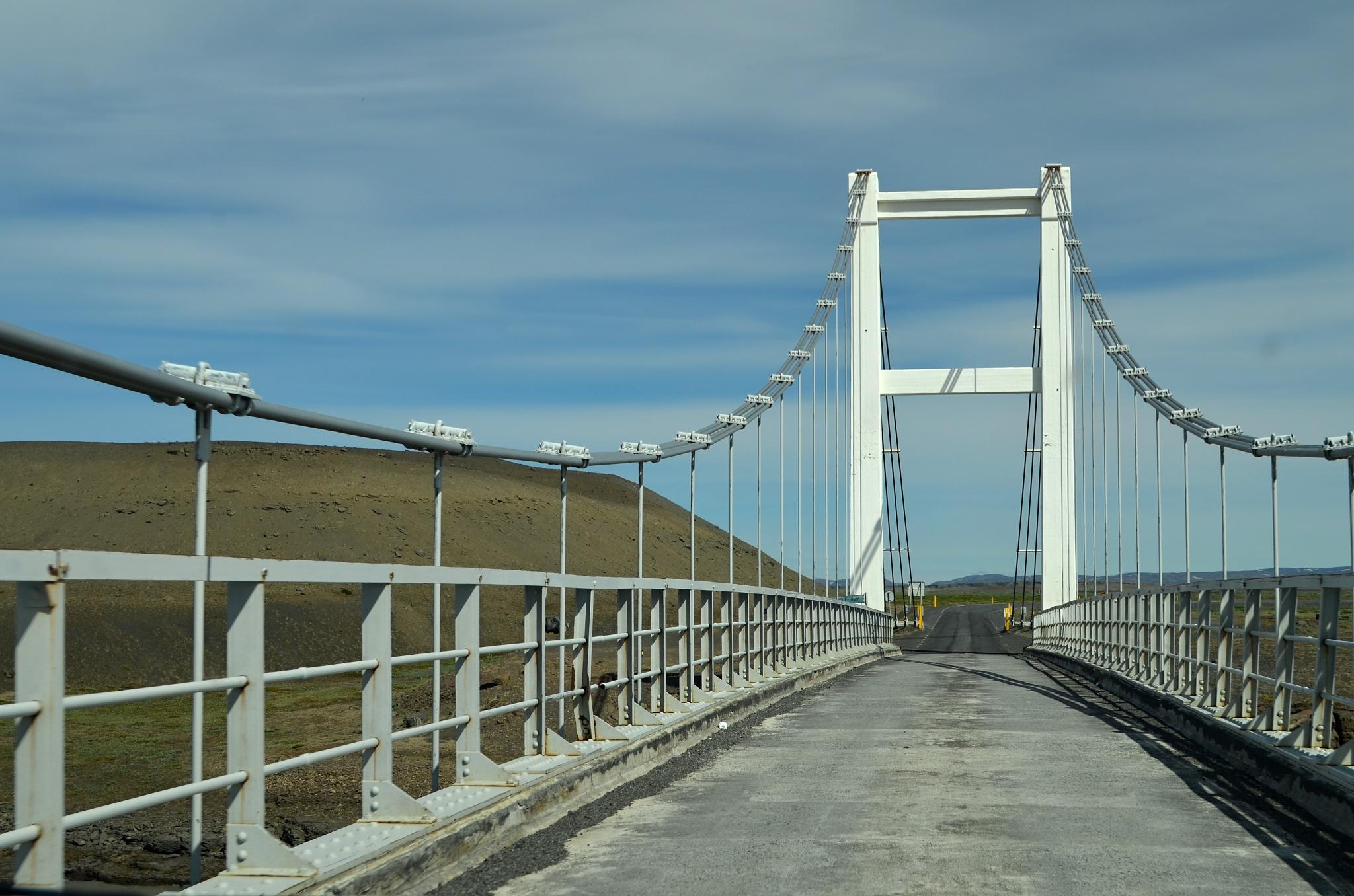 Most přes řeku Jökulsá á Fjöllum