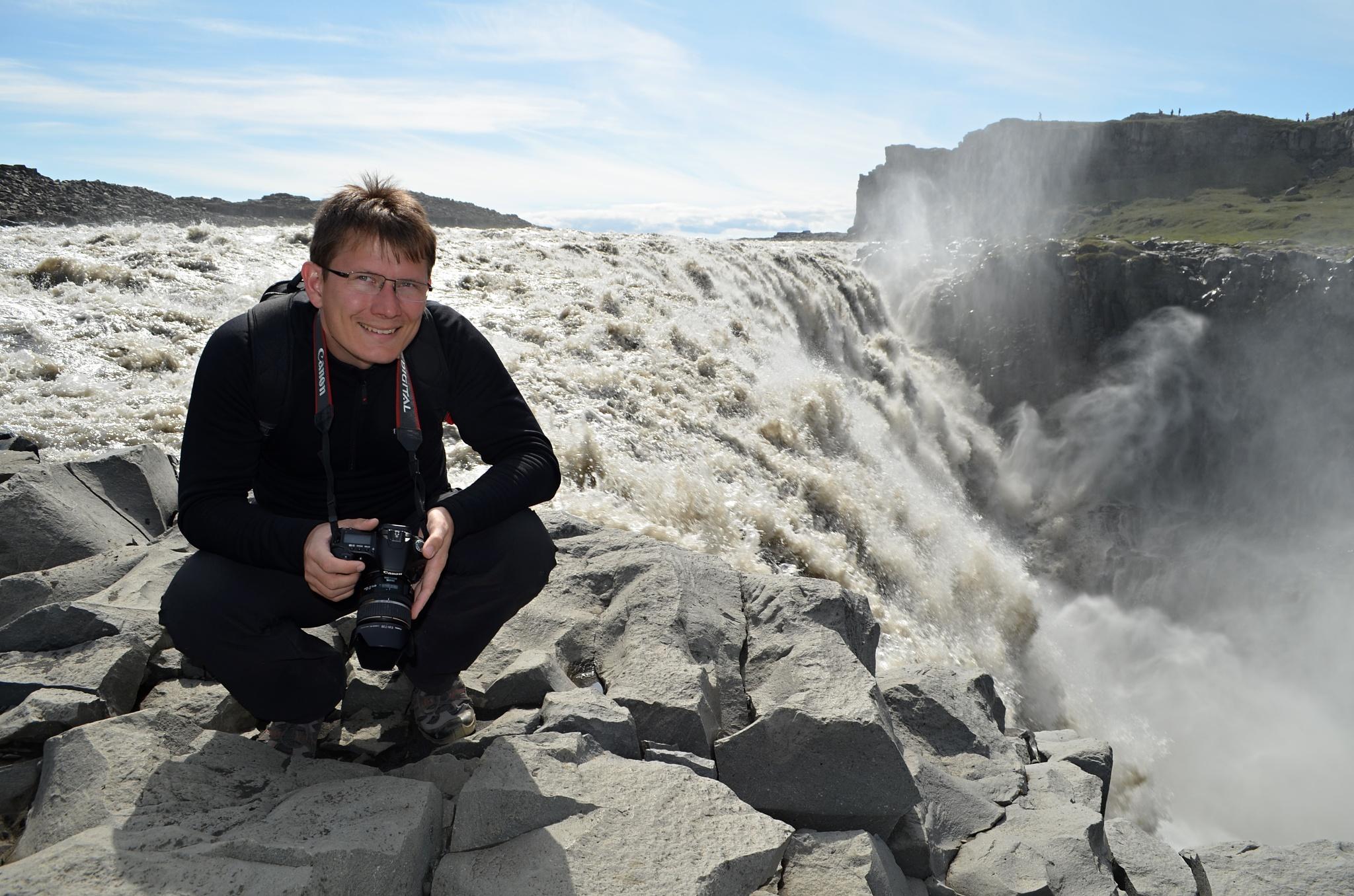 Momentka u vodopádu Dettifoss