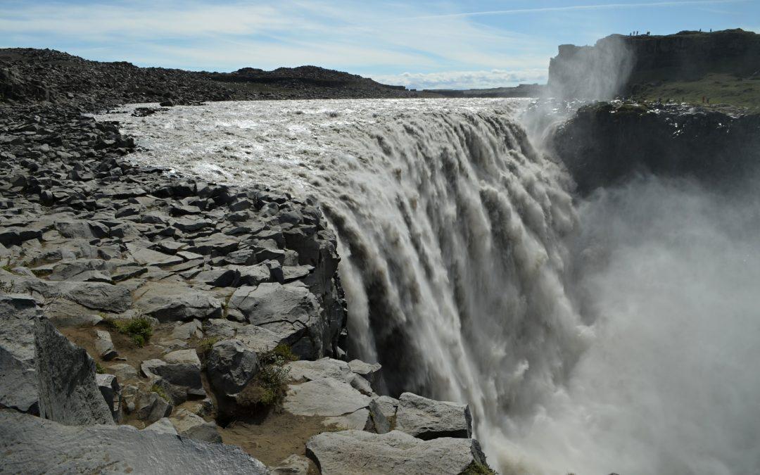 Výlet na Kraflu, vodopád Dettifoss a kaňon Ásbyrgi