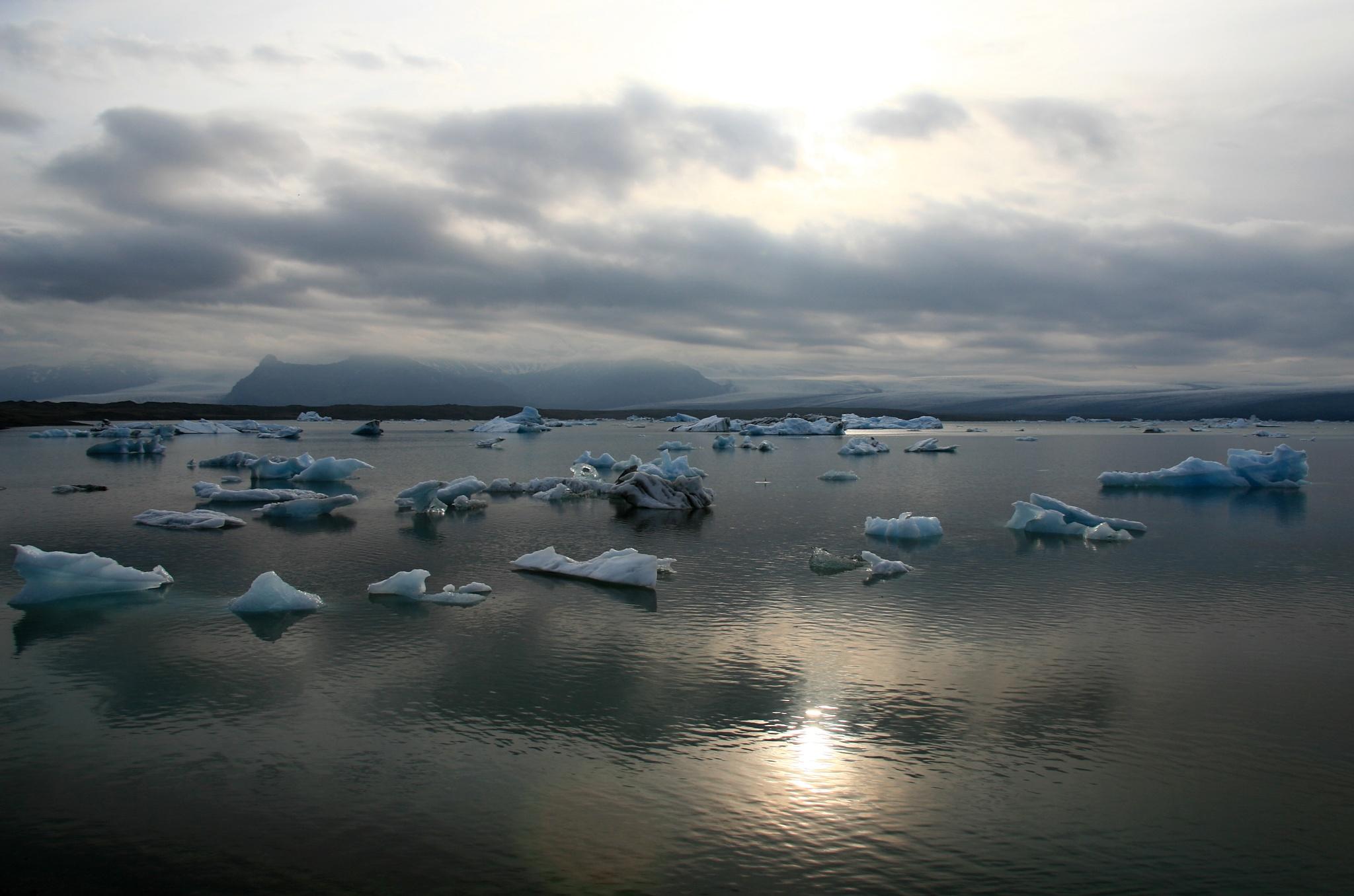 Ledovcové jezero Jökulsárlón