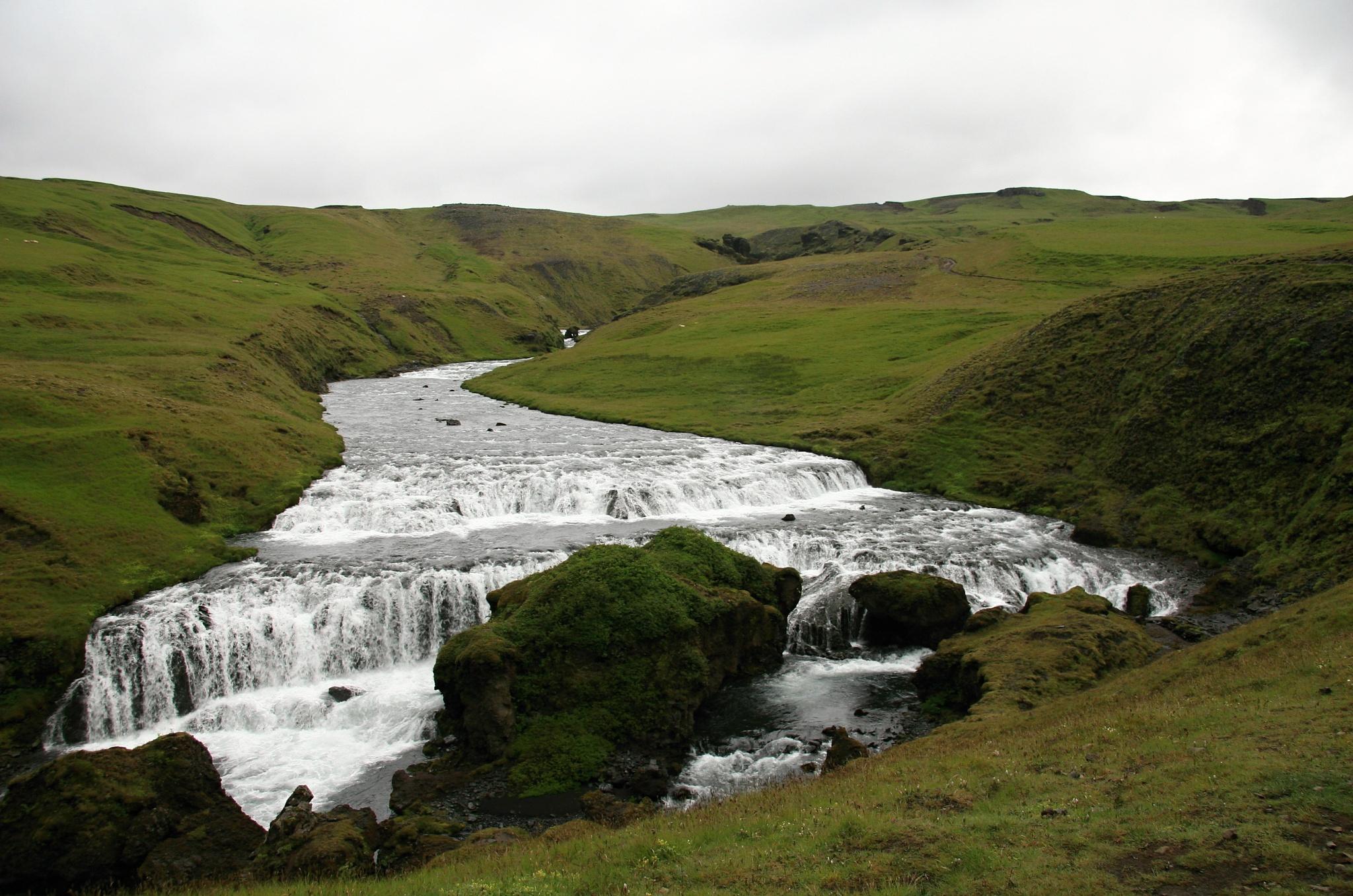 Řeka Skógá