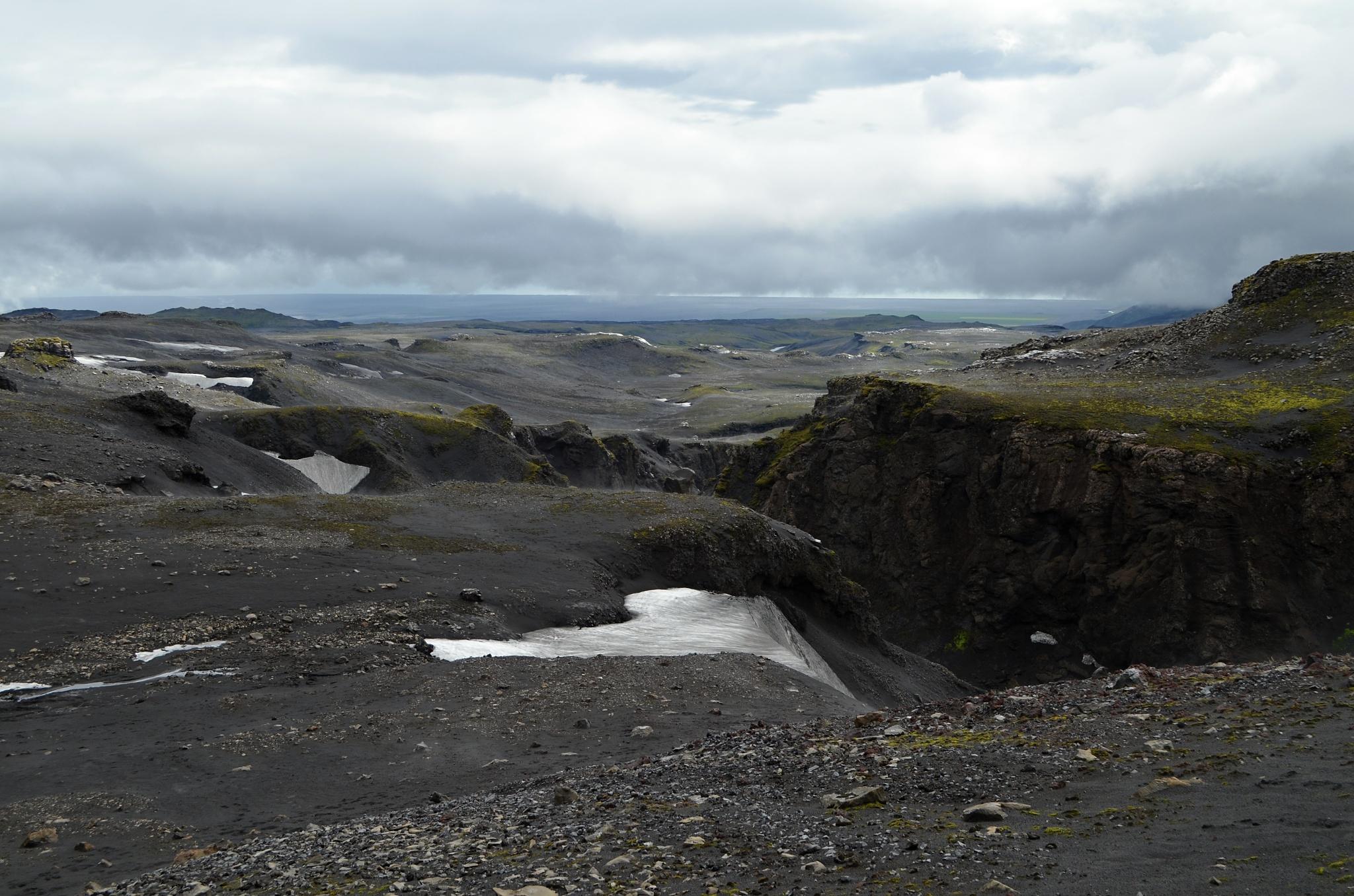 Islandská horská příroda