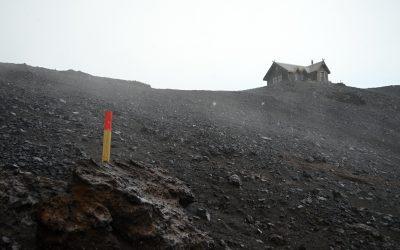 Průsmykem mezi ledovci ze Skógaru do Þórsmörku — (Skógar-Landmannalaugar, den 1.)