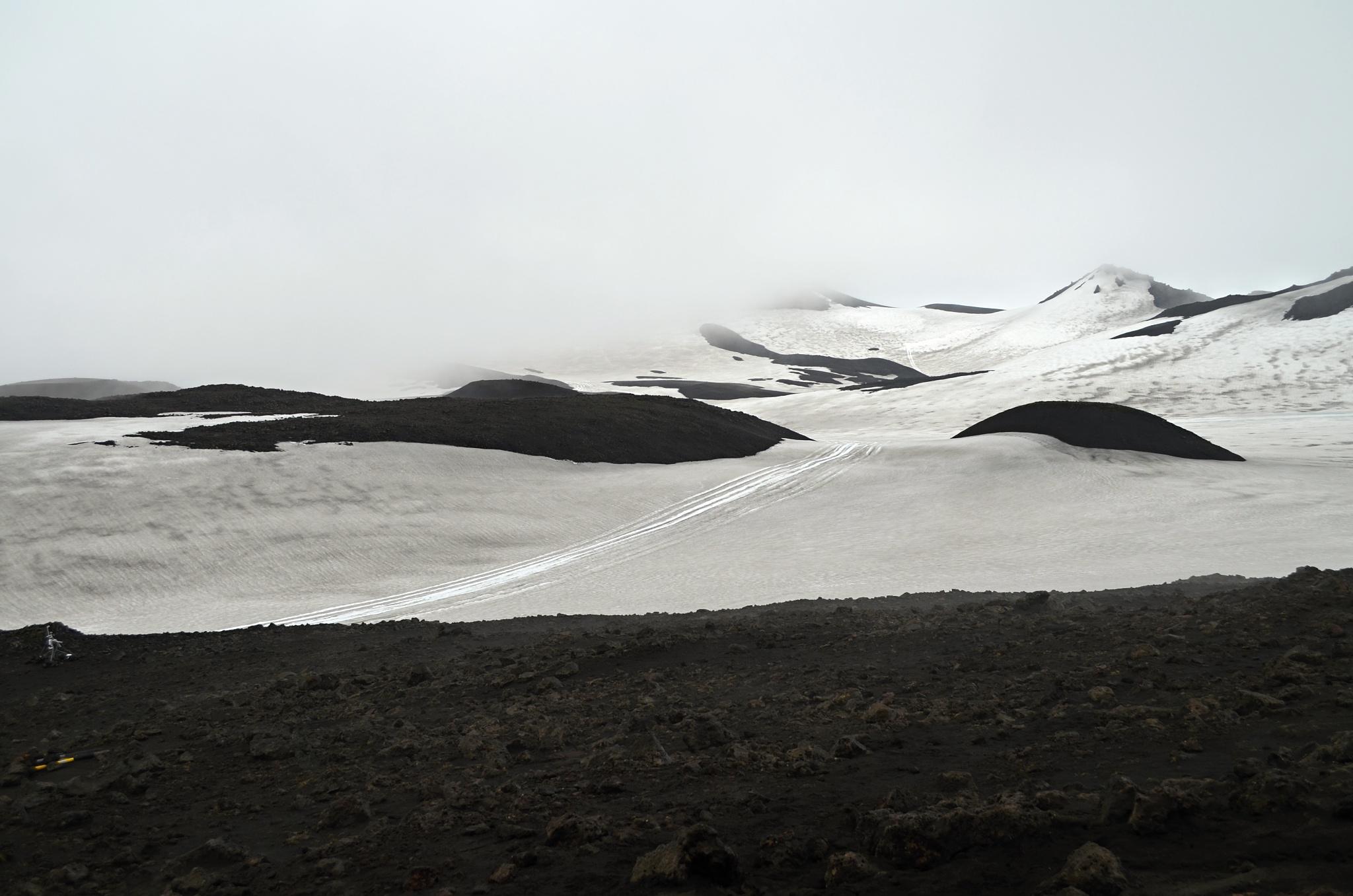 Sněhu bylo poměrně dost