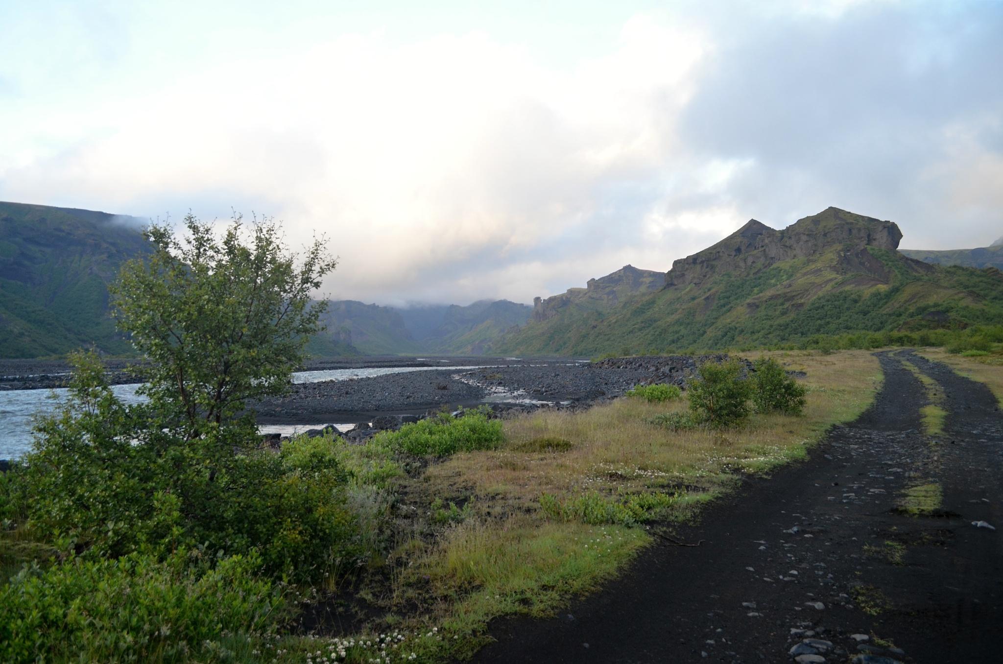 Je to za námi, jsme v Þórsmörku