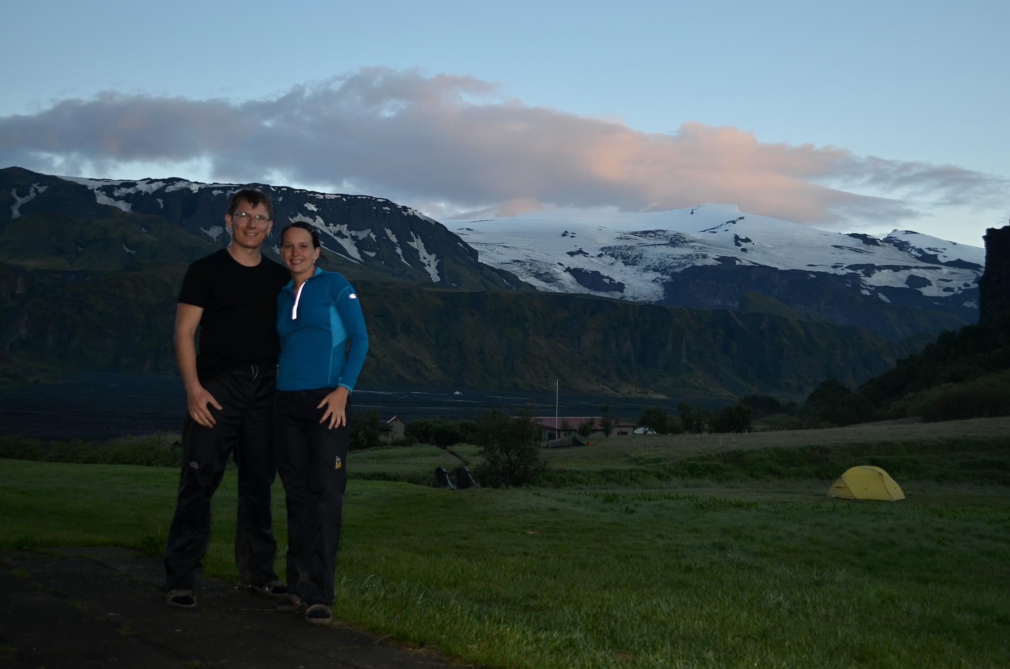 Společné foto v Þórsmörku