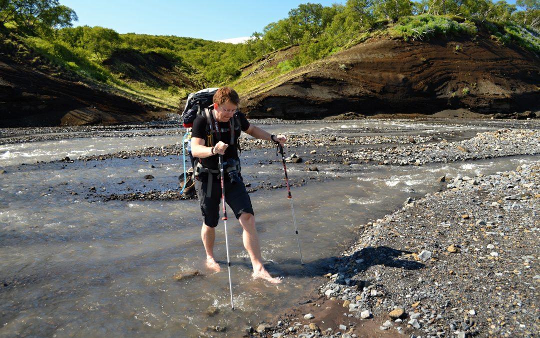 Údolím řeky Markarfljót z Þórsmörku do Emstruru — (Skógar-Landmannalaugar, den 2.)
