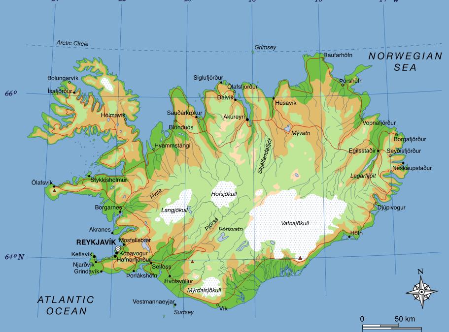 Přípravy a odjezd na dovolenou na Island