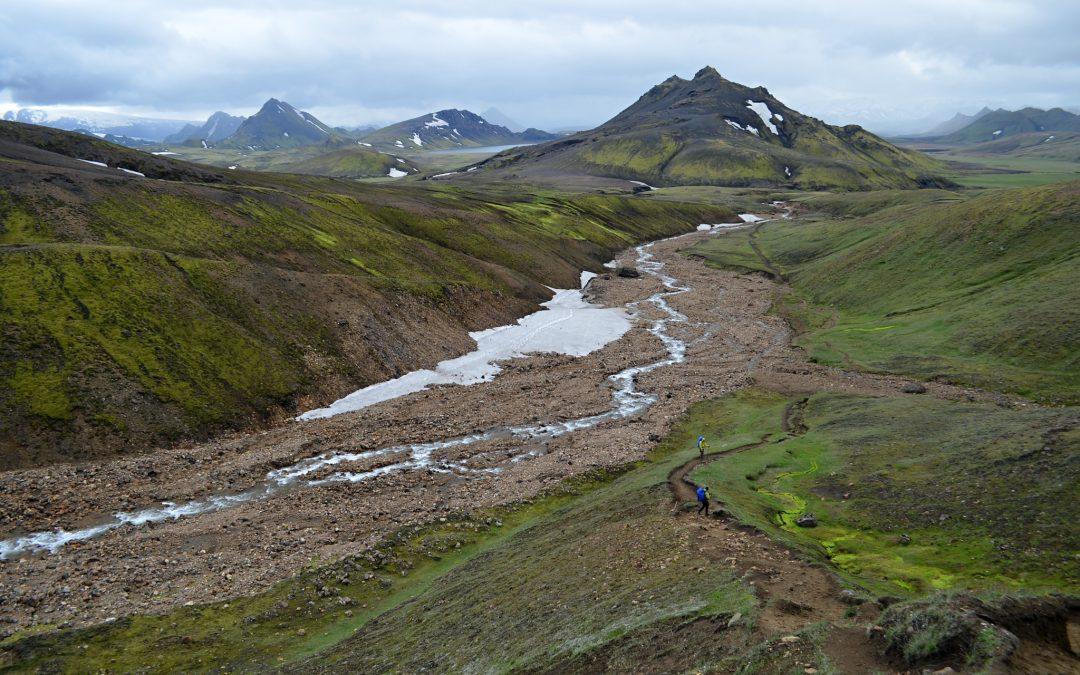 Kolem jezera Álftavatn z Emstruru do Hrafntinnuskeru — (Skógar-Landmannalaugar, den 3.)