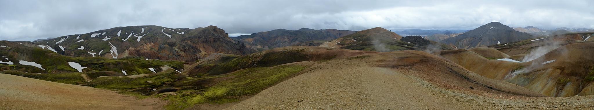 Panorama z Duhových hor