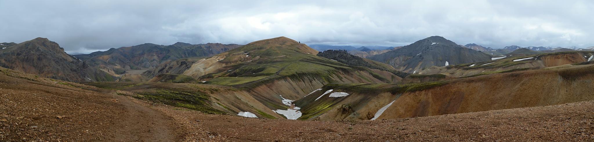 Panorama z okraje Duhových hor