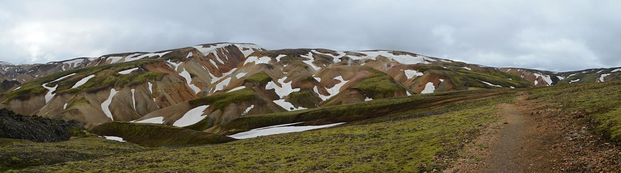 Panorama Duhových hor
