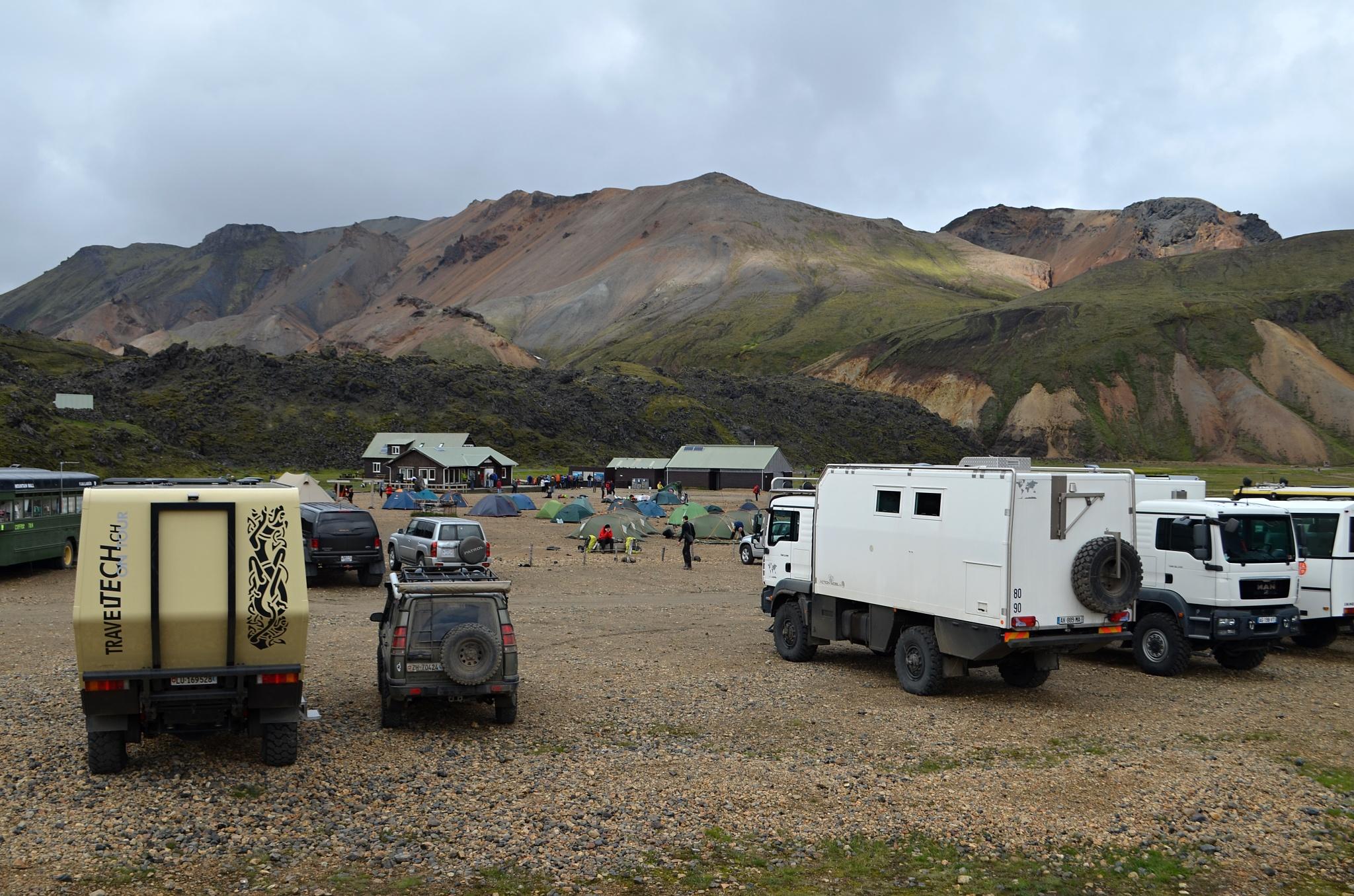 Terénní karavany pro zhýčkané turisty