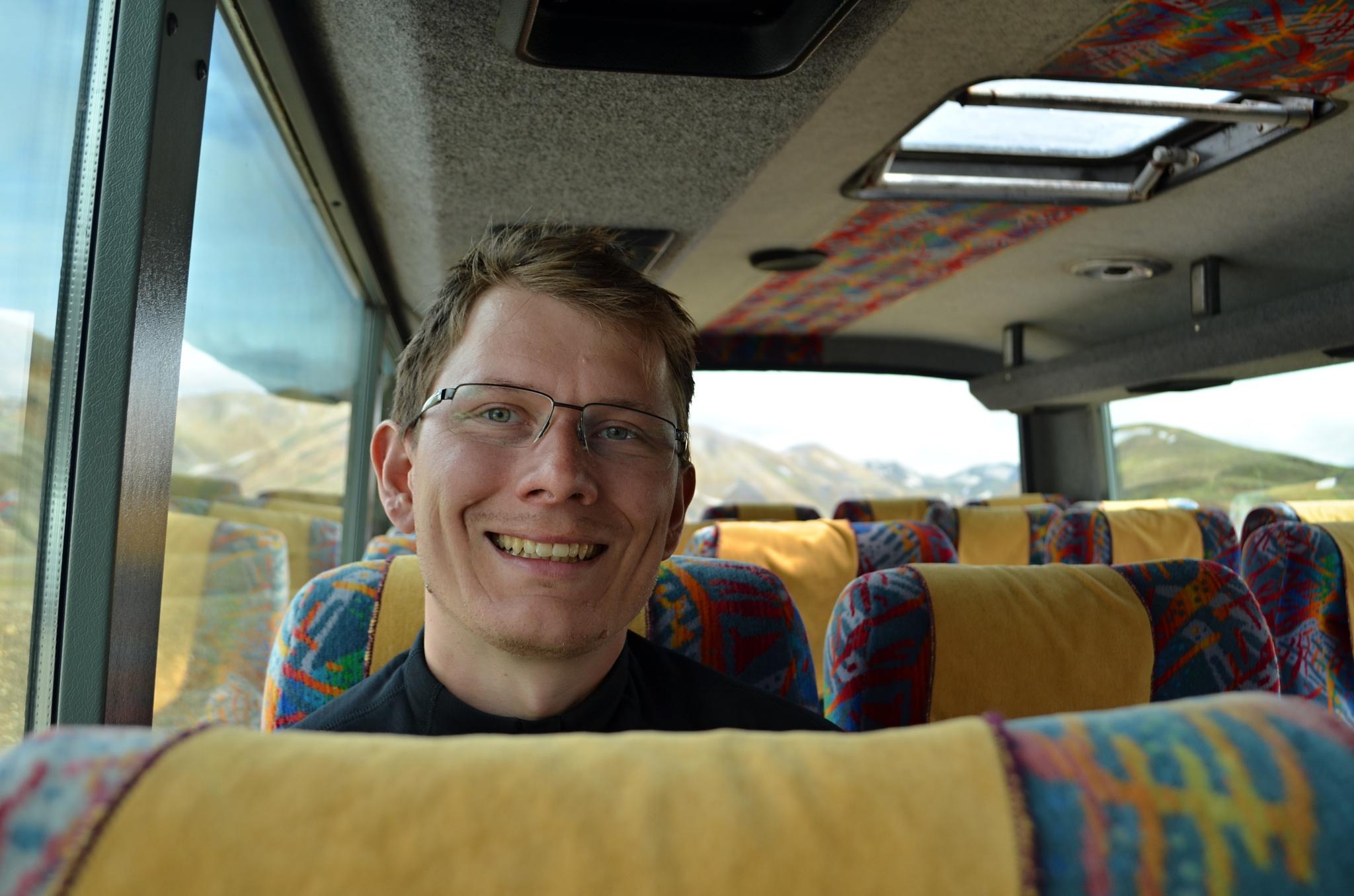 Konečně v autobuse
