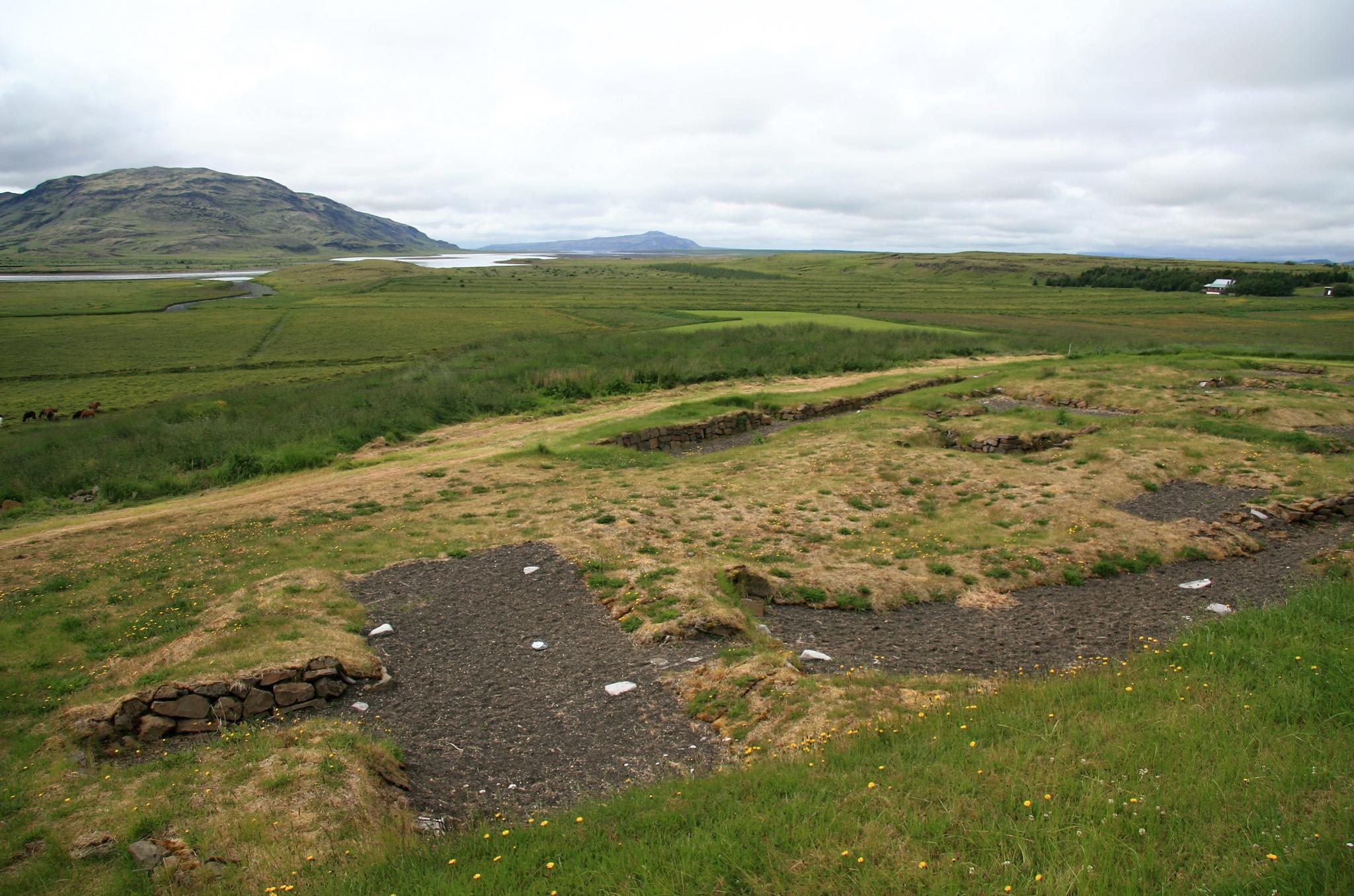 Původní sídlo biskupa ve Skálholtu