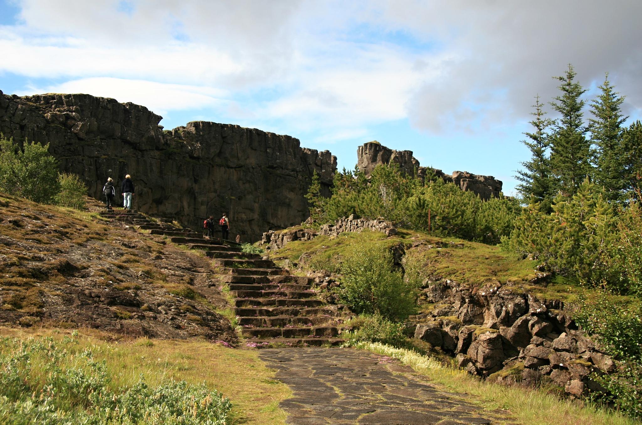 Velká propadlina Þingvellir